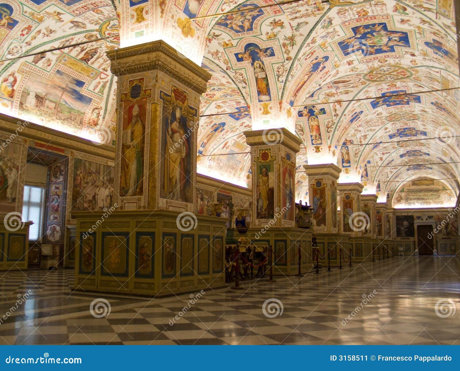 Quarto do museu de Vatican