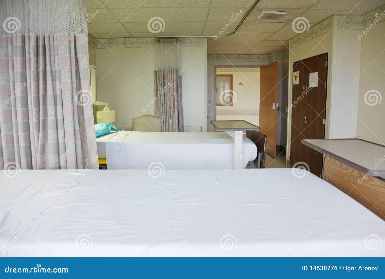 Quarto do paciente no hospital