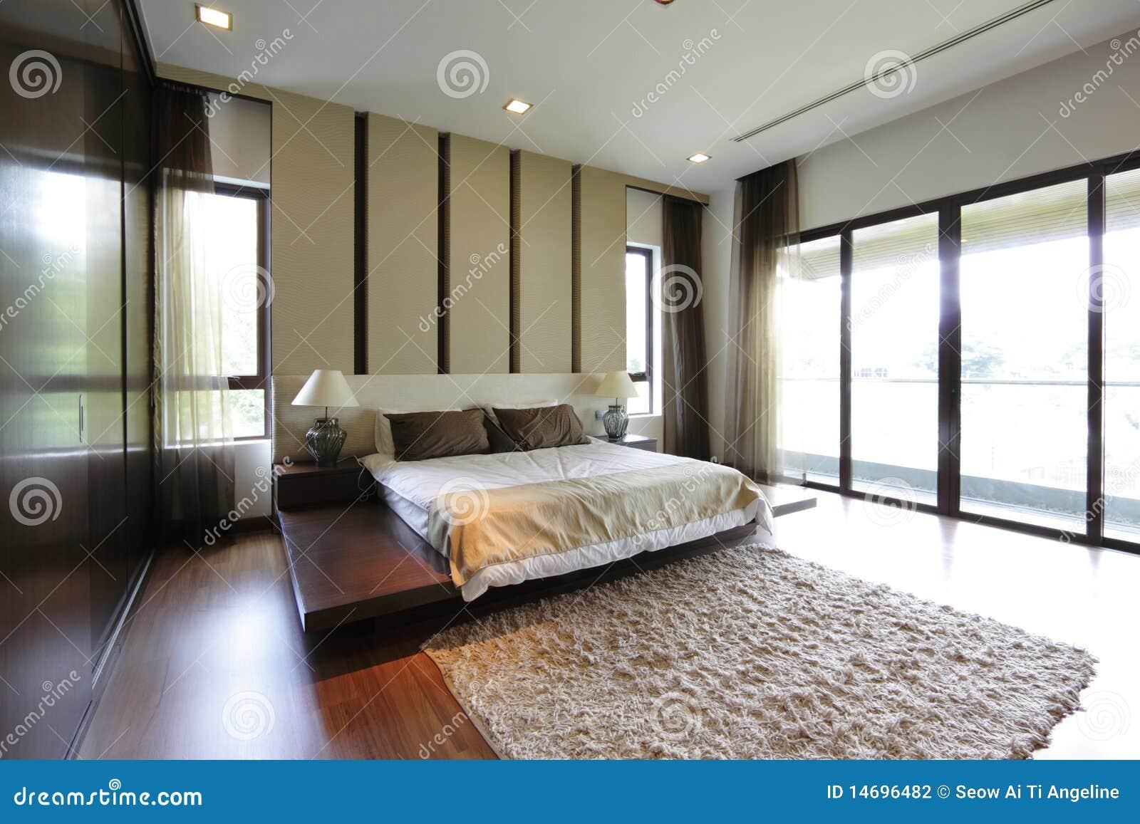 Quarto moderno fotografia de stock imagem 14696482 for Chambre a coucher moderne bejaia