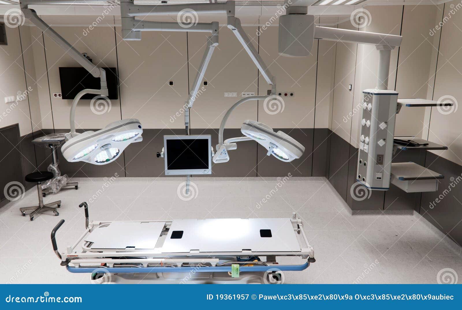 Quarto moderno da cirurgia