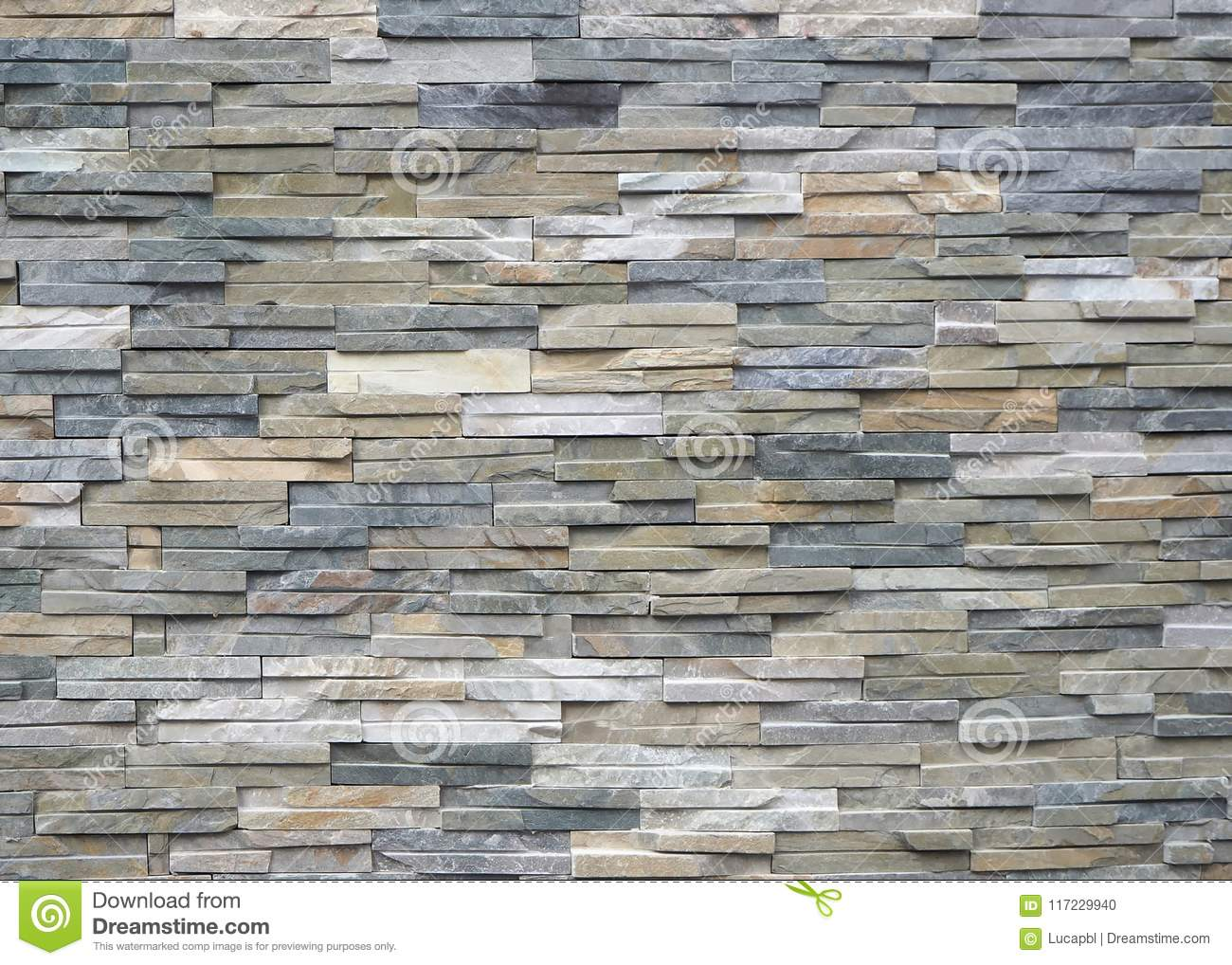 Download Quartzite Natural Stone Cladding For External Walls Background And Texture Stock Photo