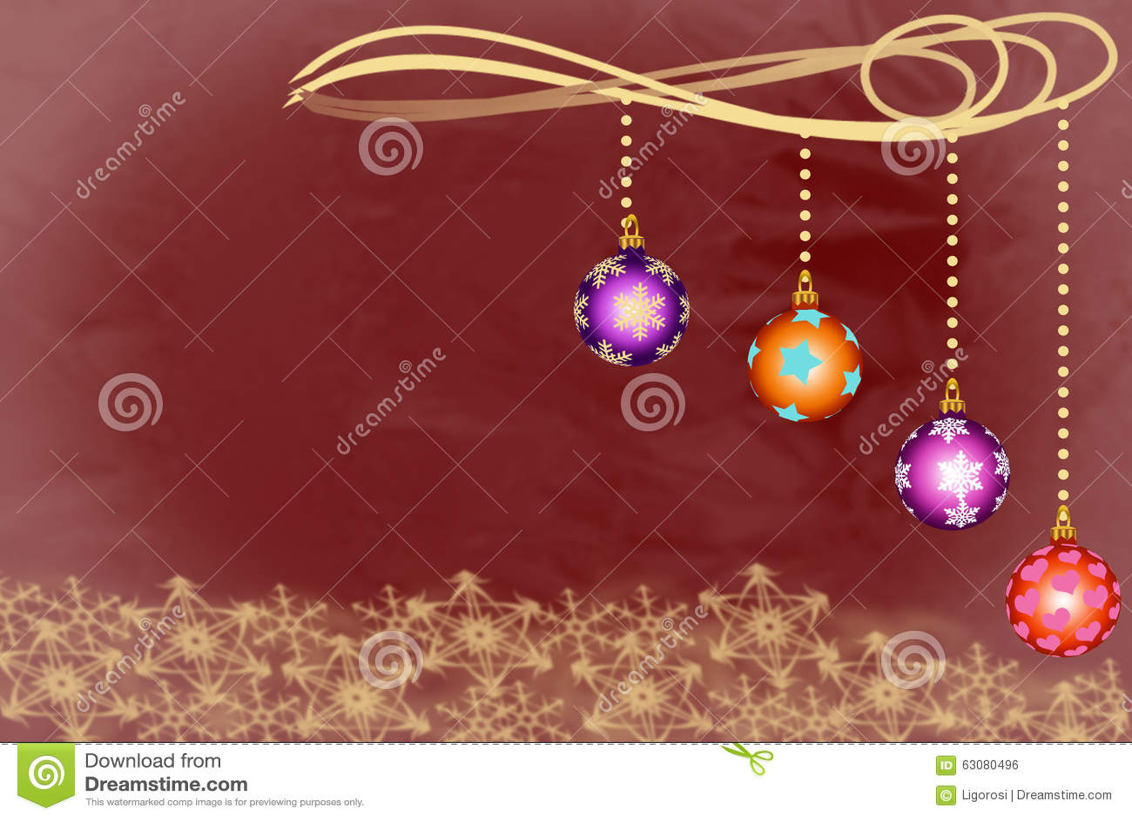 Download Quatre Cuvettes D'ornement De Noël Avec Des Flocons De Neige Photo stock - Image du stupéfier, vacances: 63080496