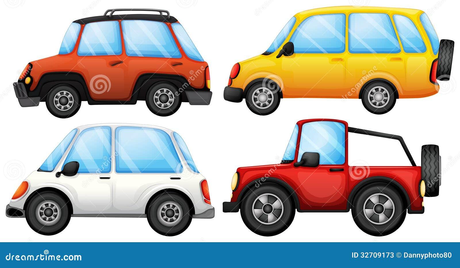 Quatre dispositifs de transport