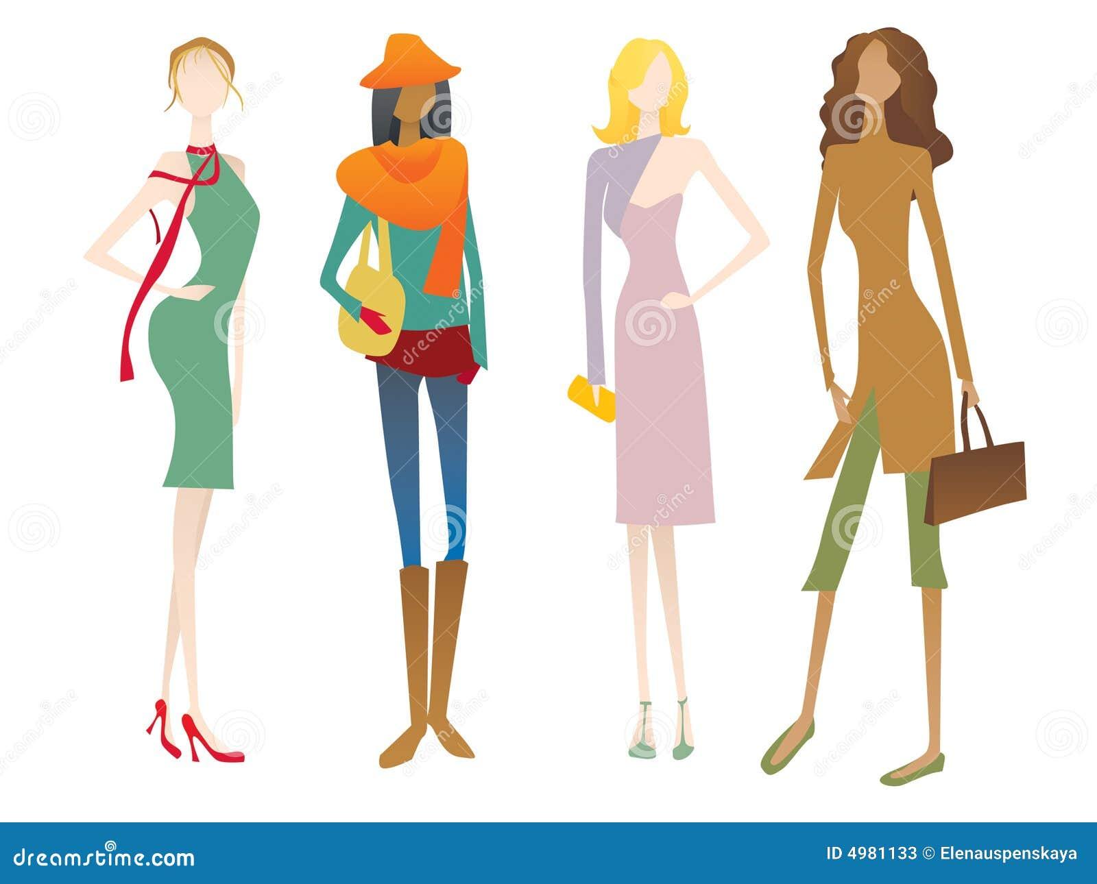 Quatre personnalités féminines