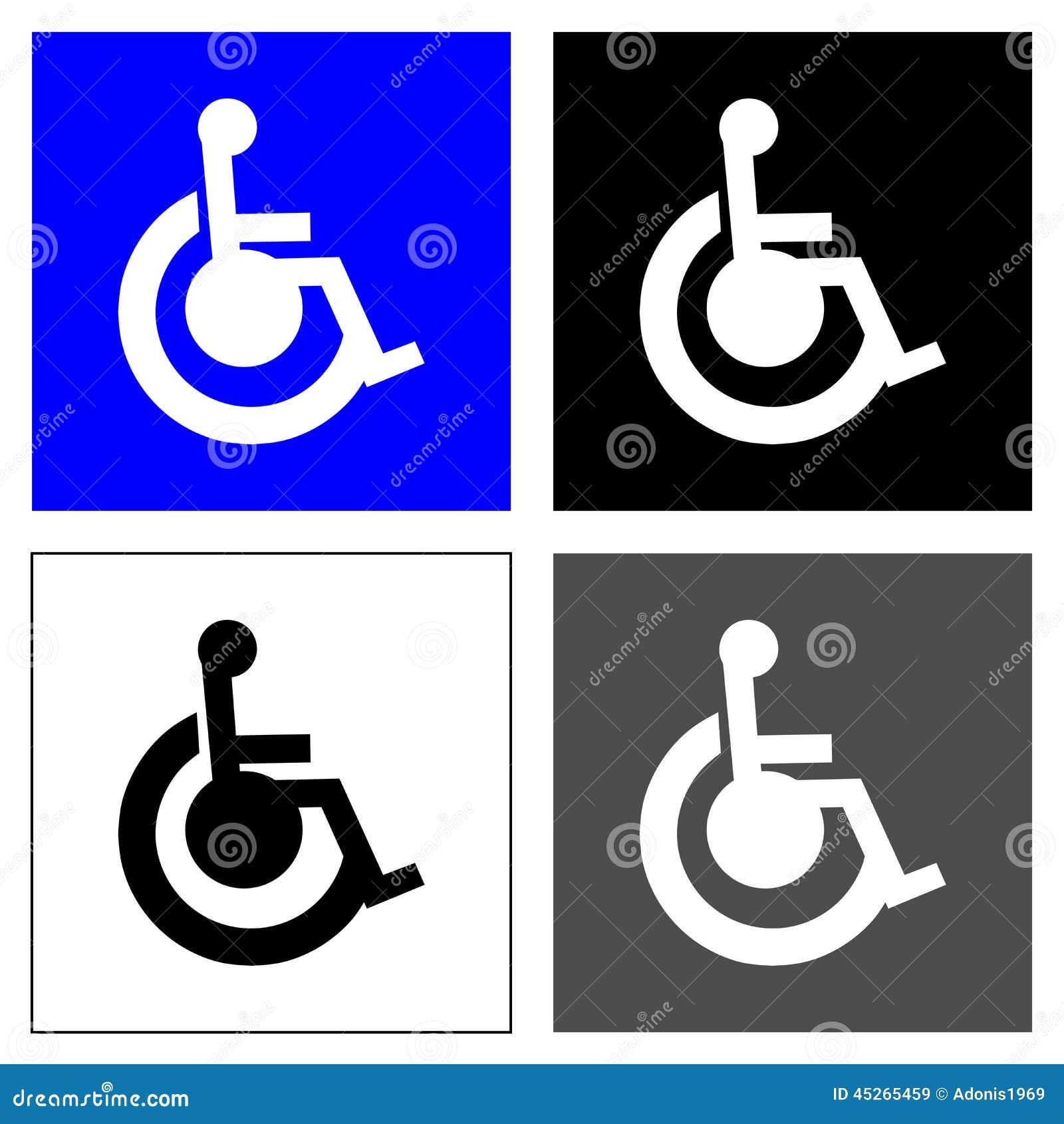 Quatre places de fauteuil roulant
