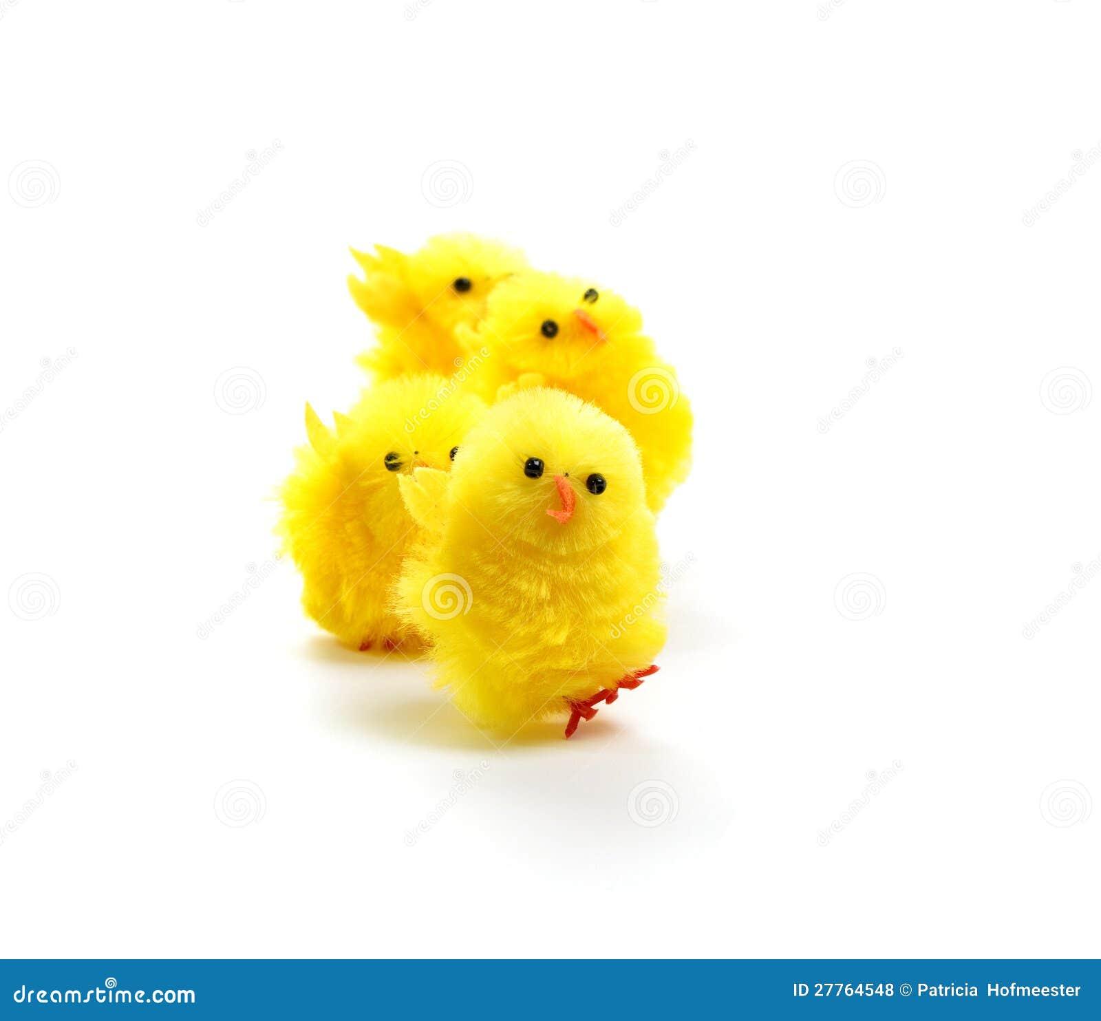 Quatre poulets de Pâques