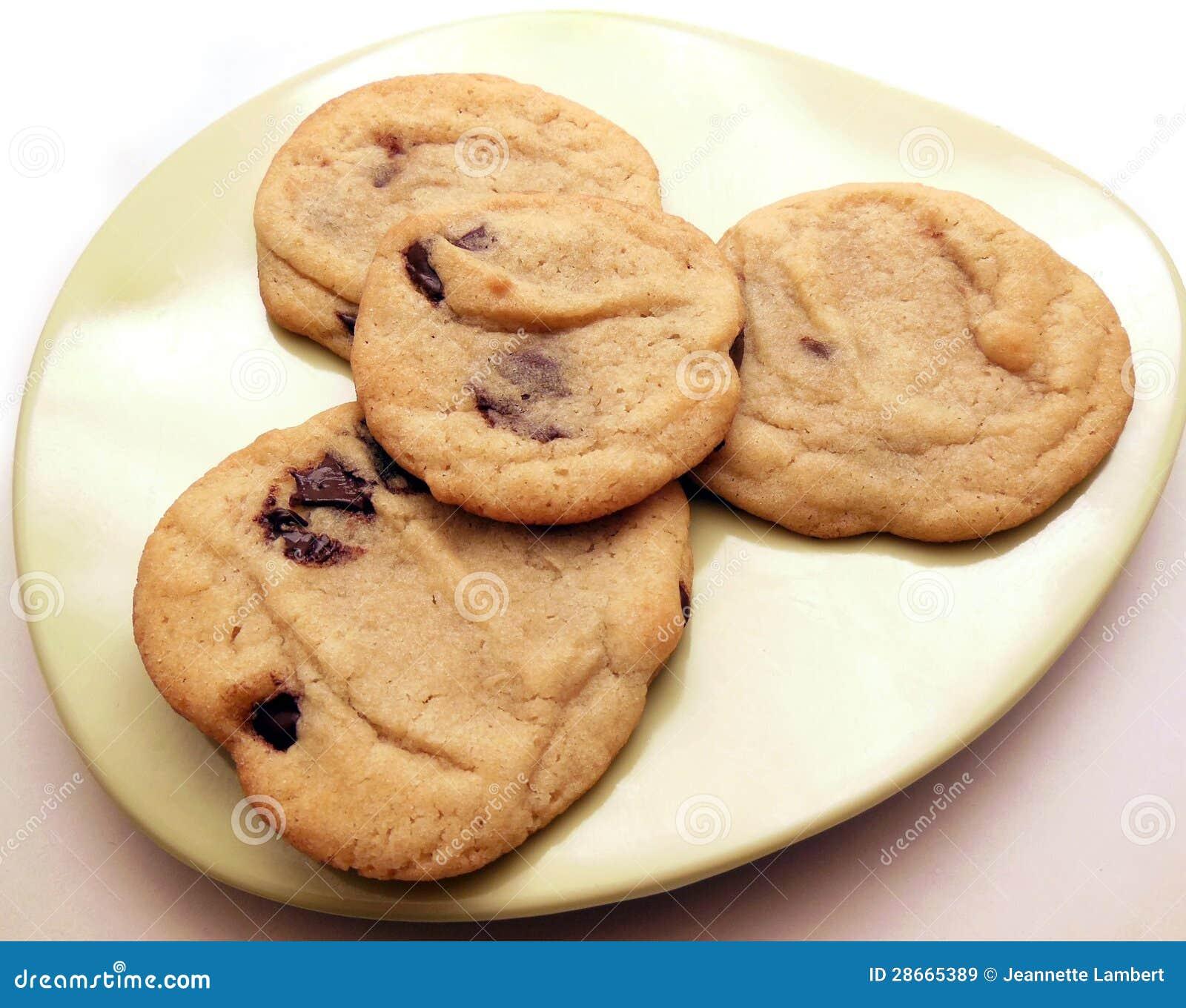 Quatro biscoitos caseiros