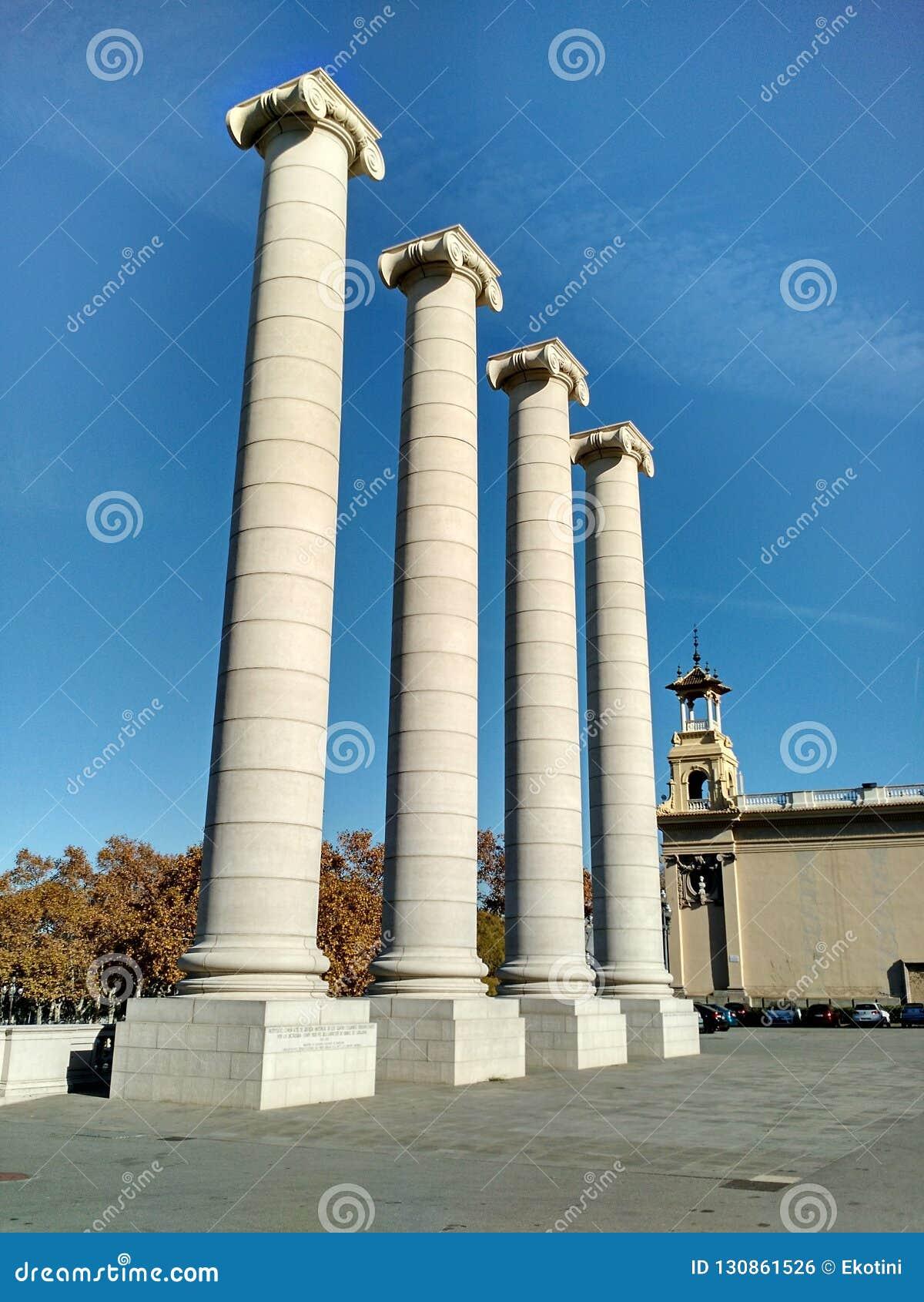 Quatro colunas