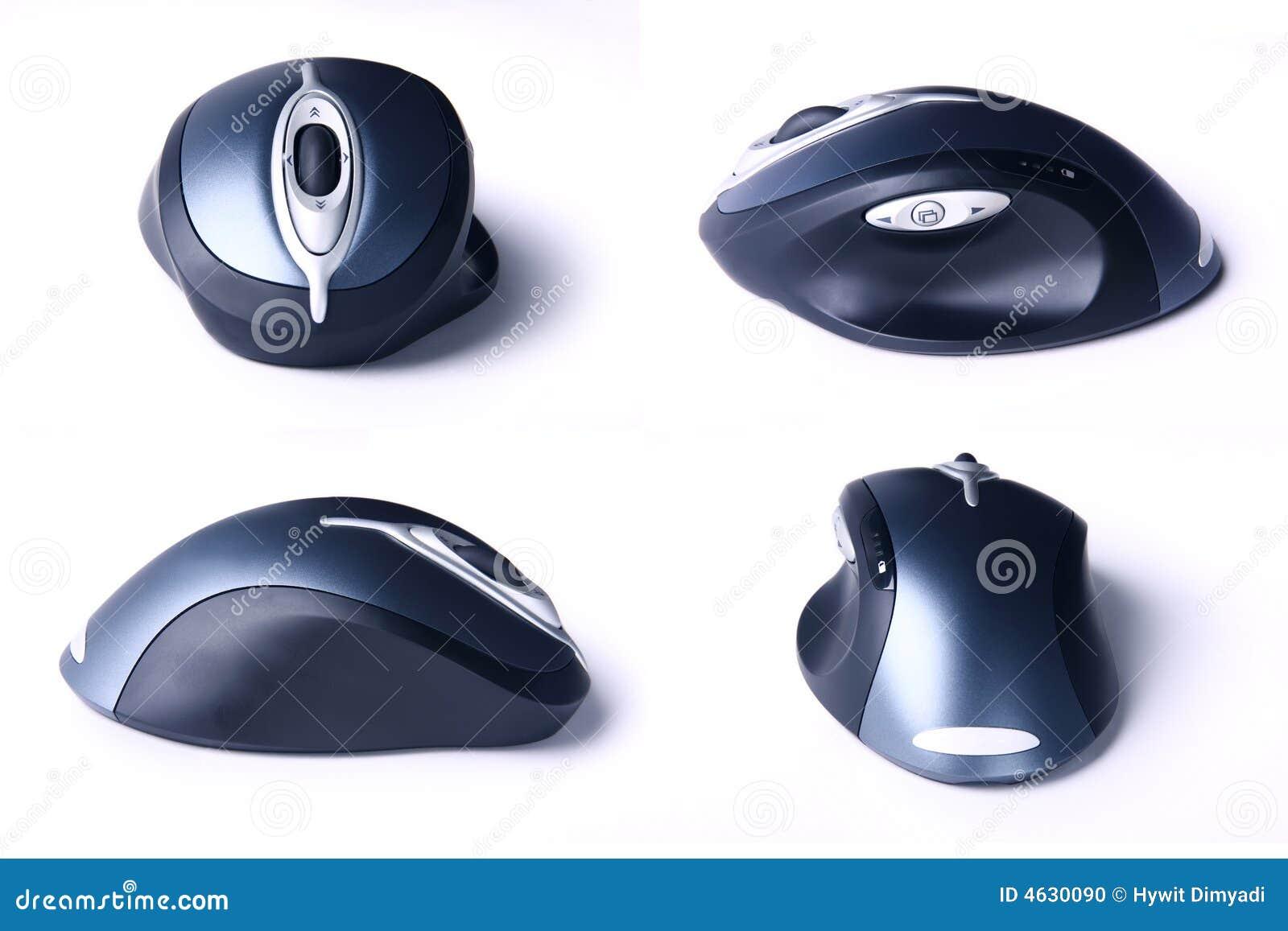 Quatro opiniões o rato sem corda do computador