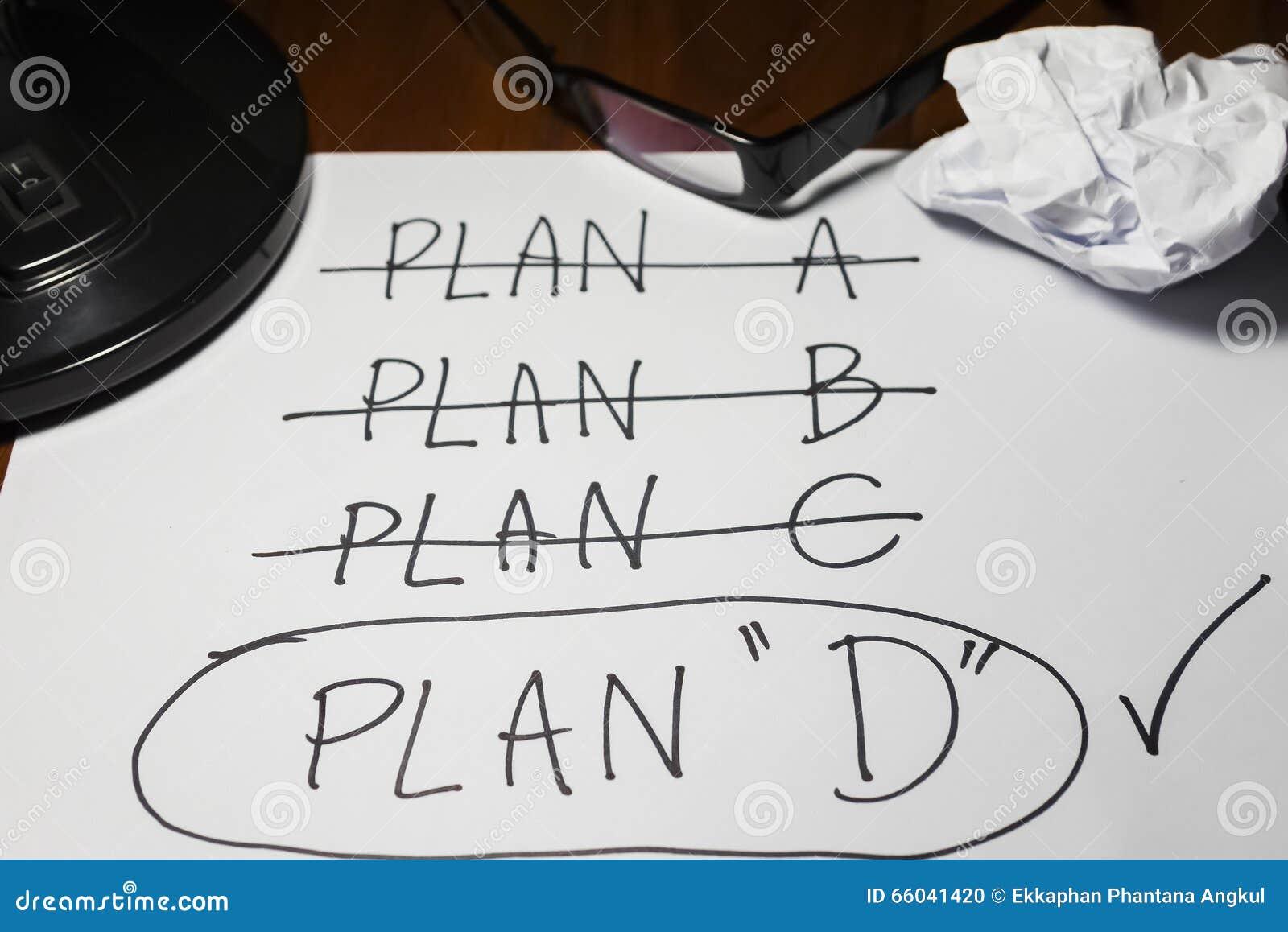Quatro planos, mudança do plano