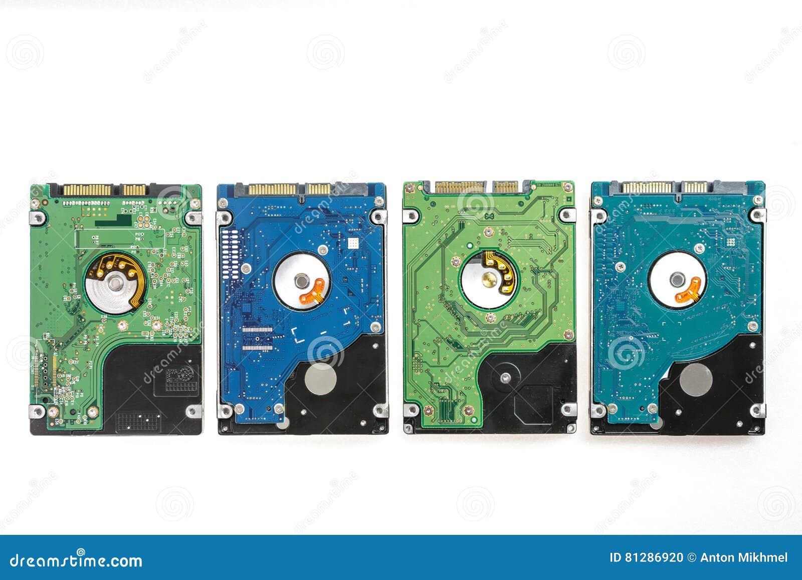 Quattro 2 differenti ` A 5 pollici s del computer portatile HDD