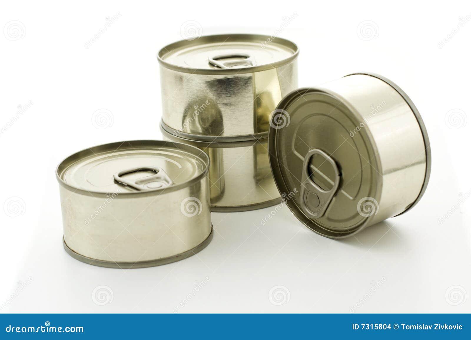 Quattro latte del metallo