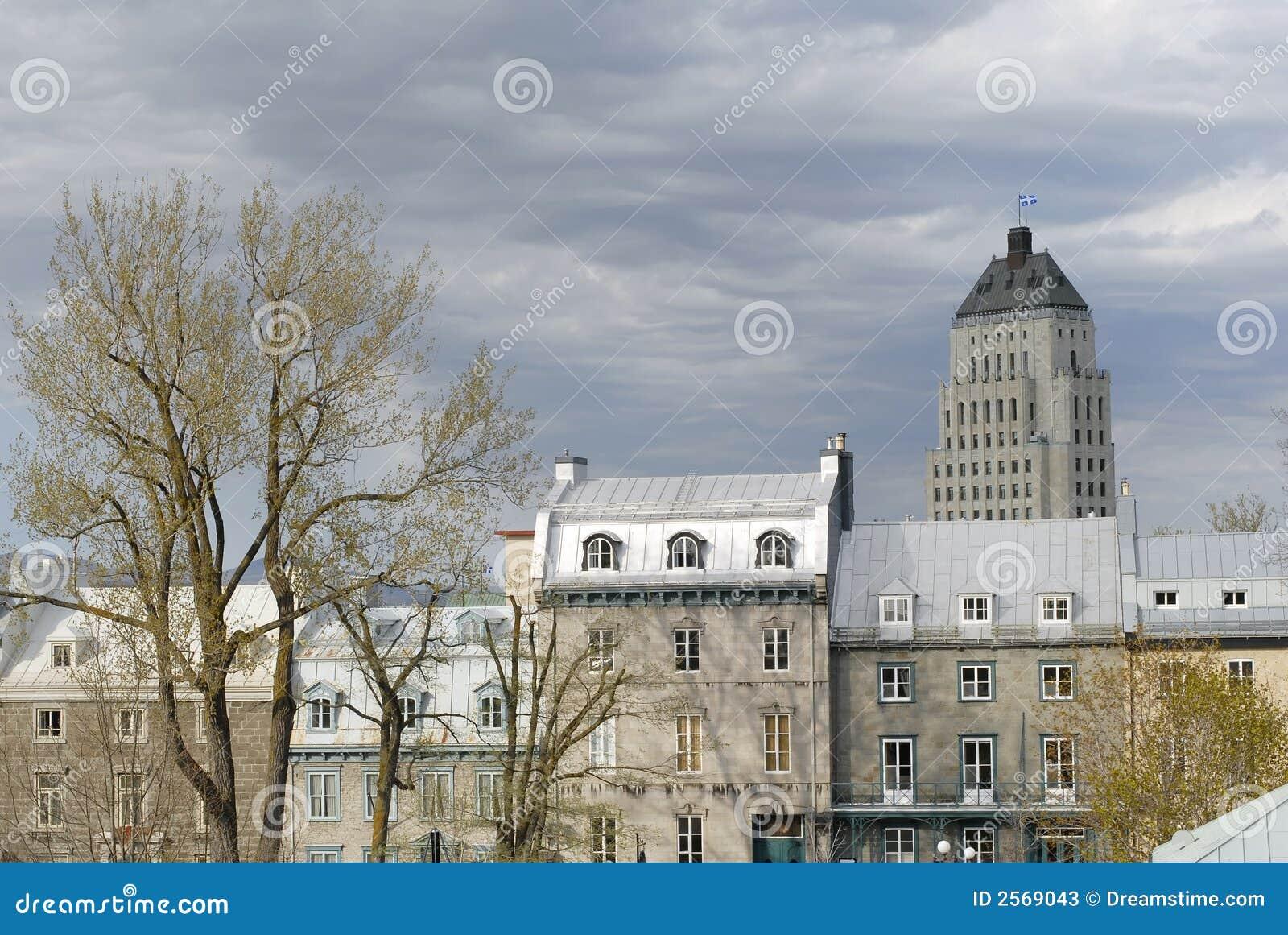 Quebec city architecture stock photos image 2569043 for Architecture quebec