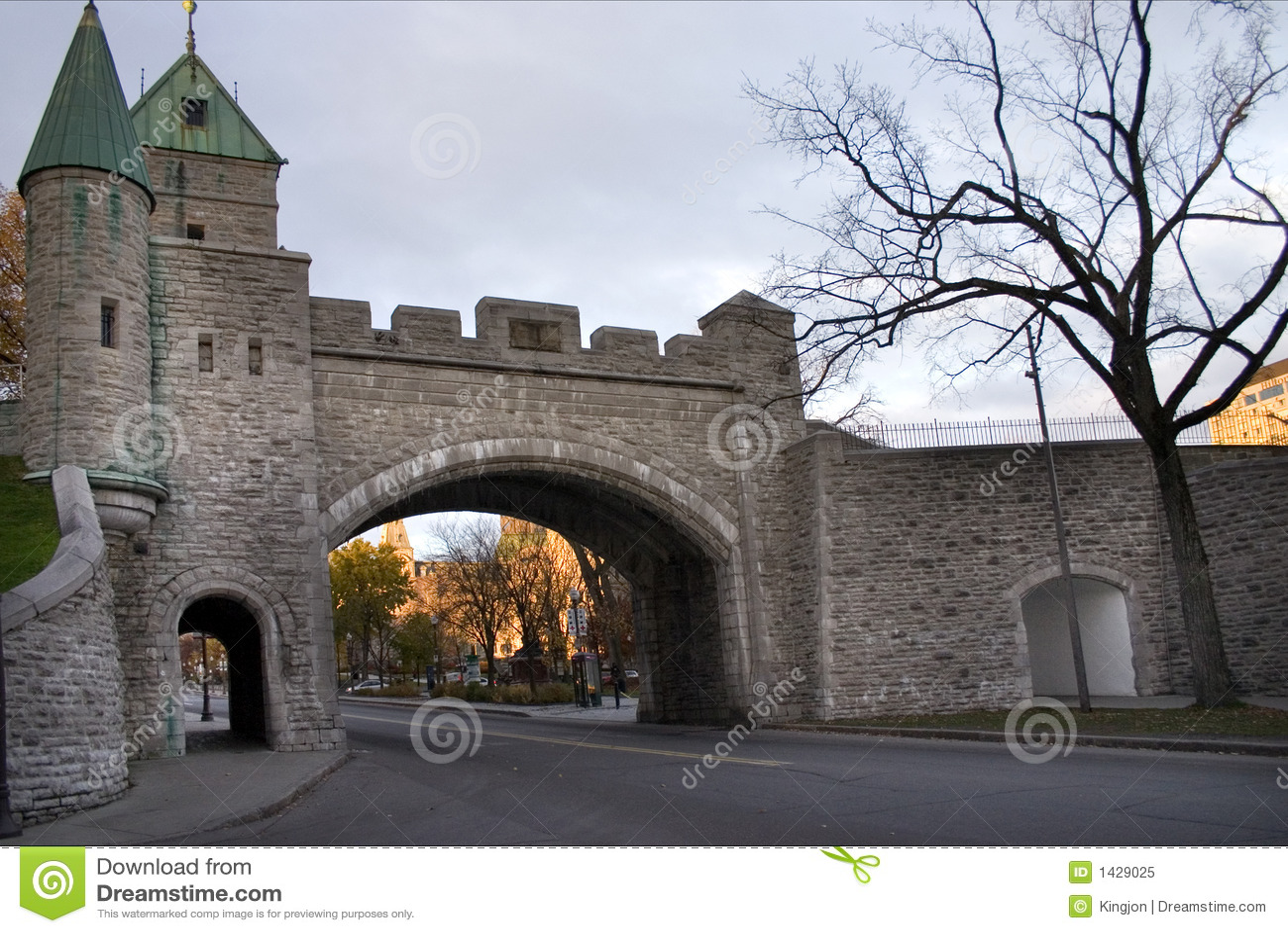 Quebec City Wall