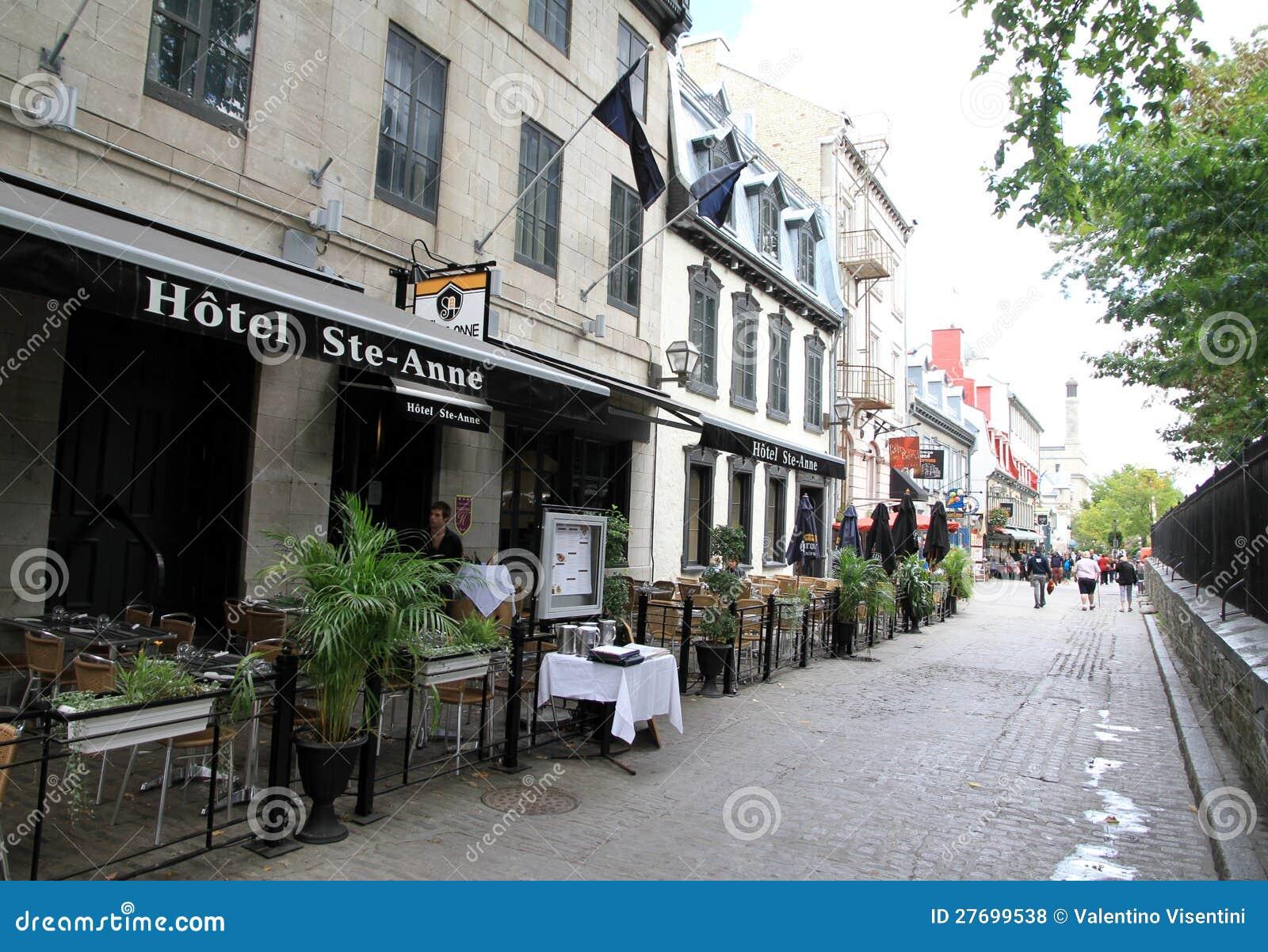 Quebec Miasta Stary Teren