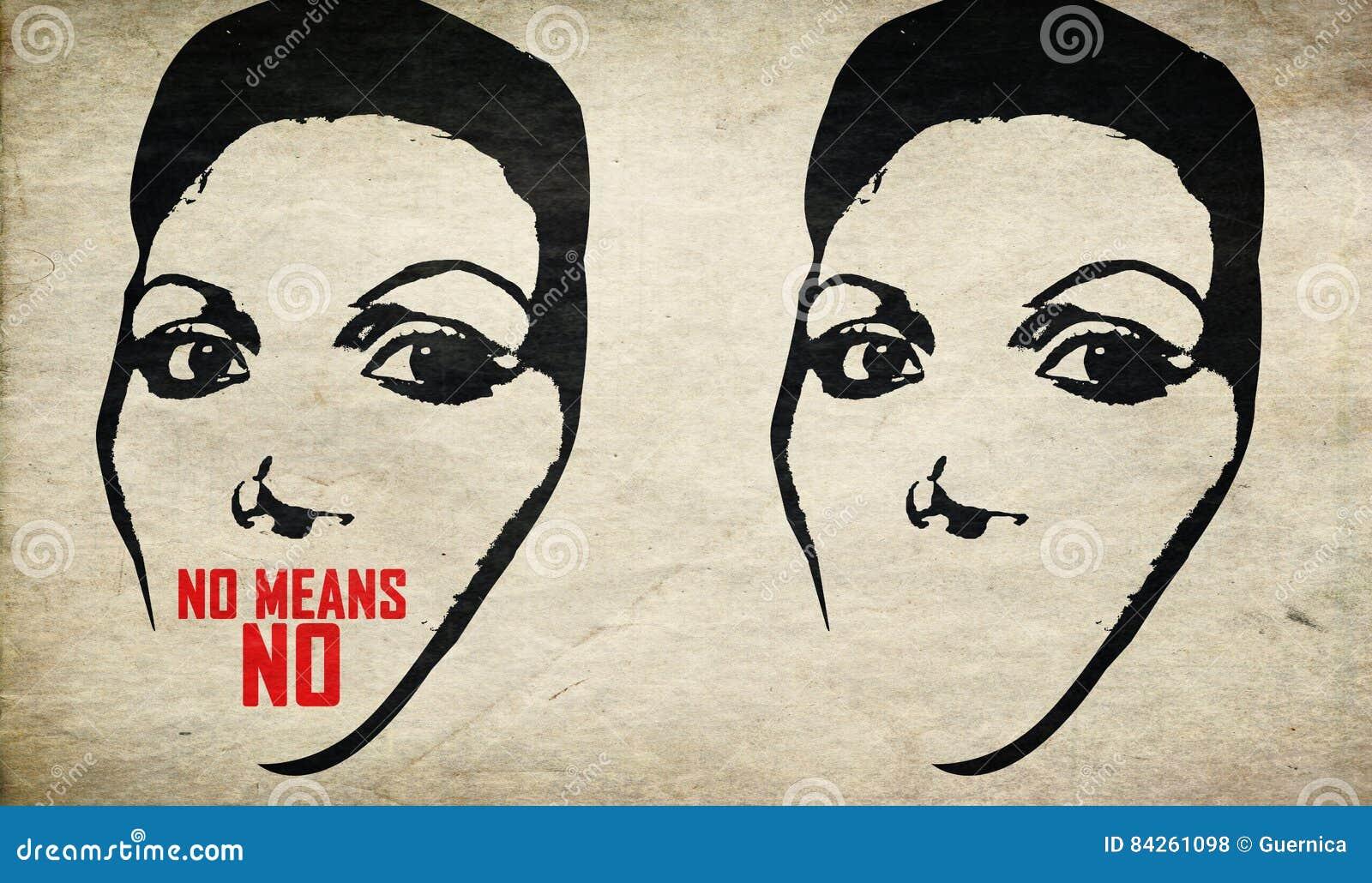 Quebre a violência da parada do silêncio contra a mulher
