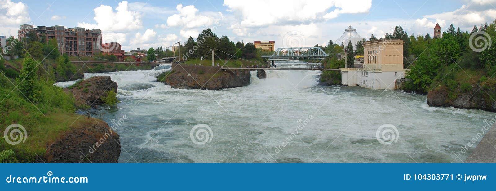 Quedas de Spokane - Spokane, Washington