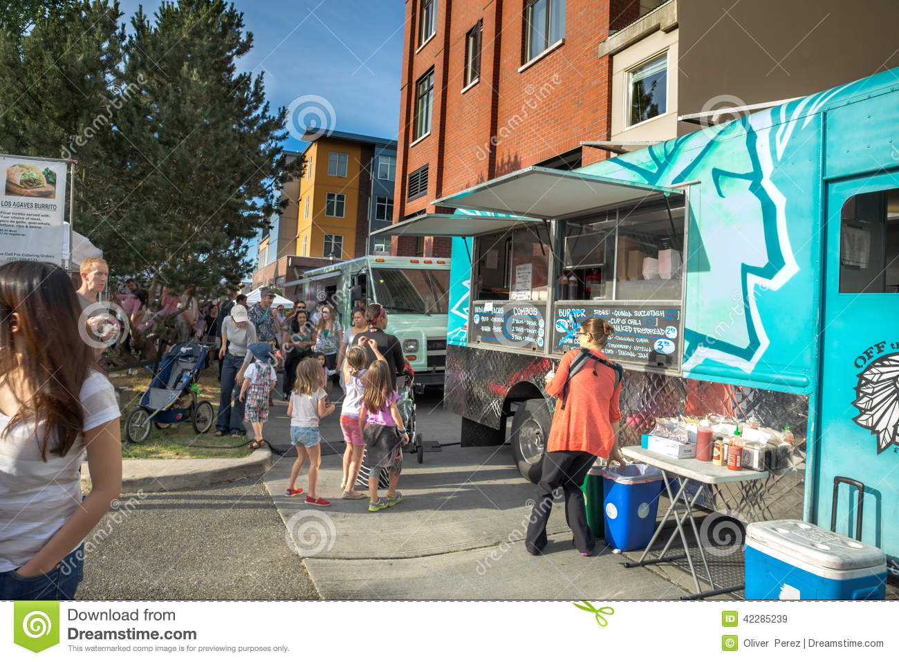 Seattle Food Trucks Queen Anne