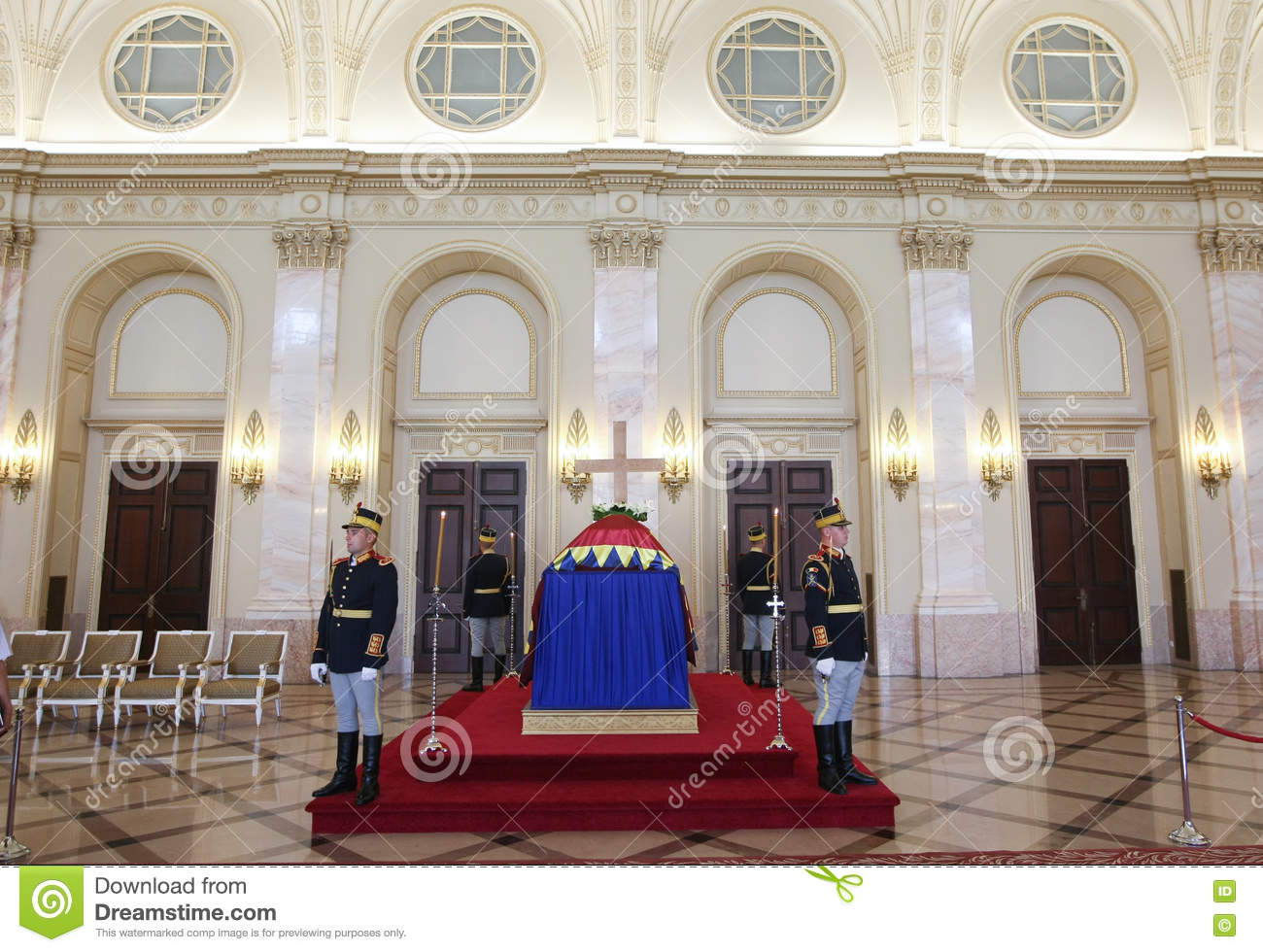 queen anne of romania at the royal palace in bucharest editorial photo image of funeral. Black Bedroom Furniture Sets. Home Design Ideas