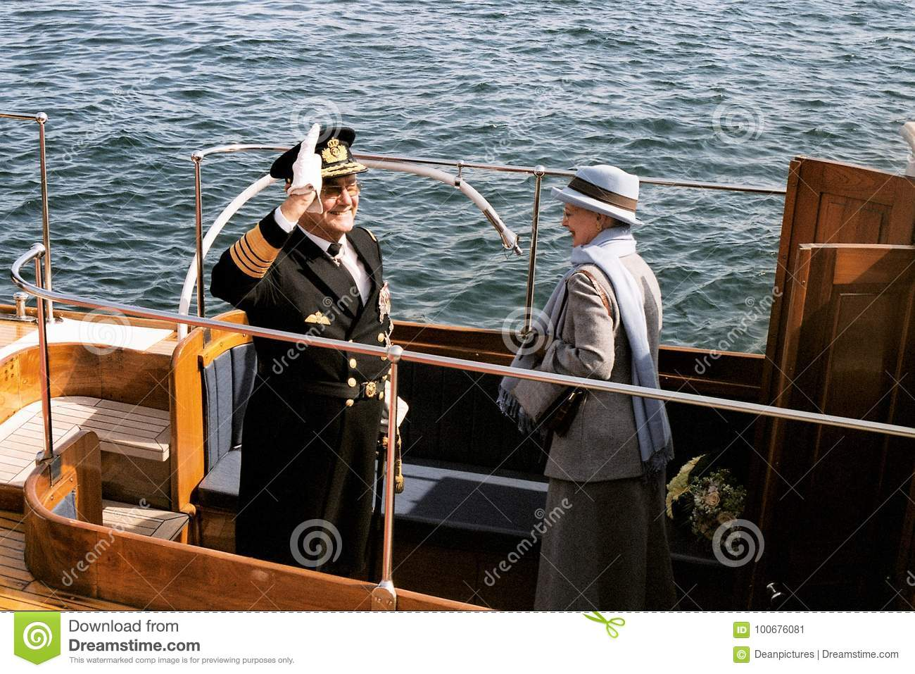 QUEEN MARGRETHE II AND PRINCE HENRIK OF DENMARK