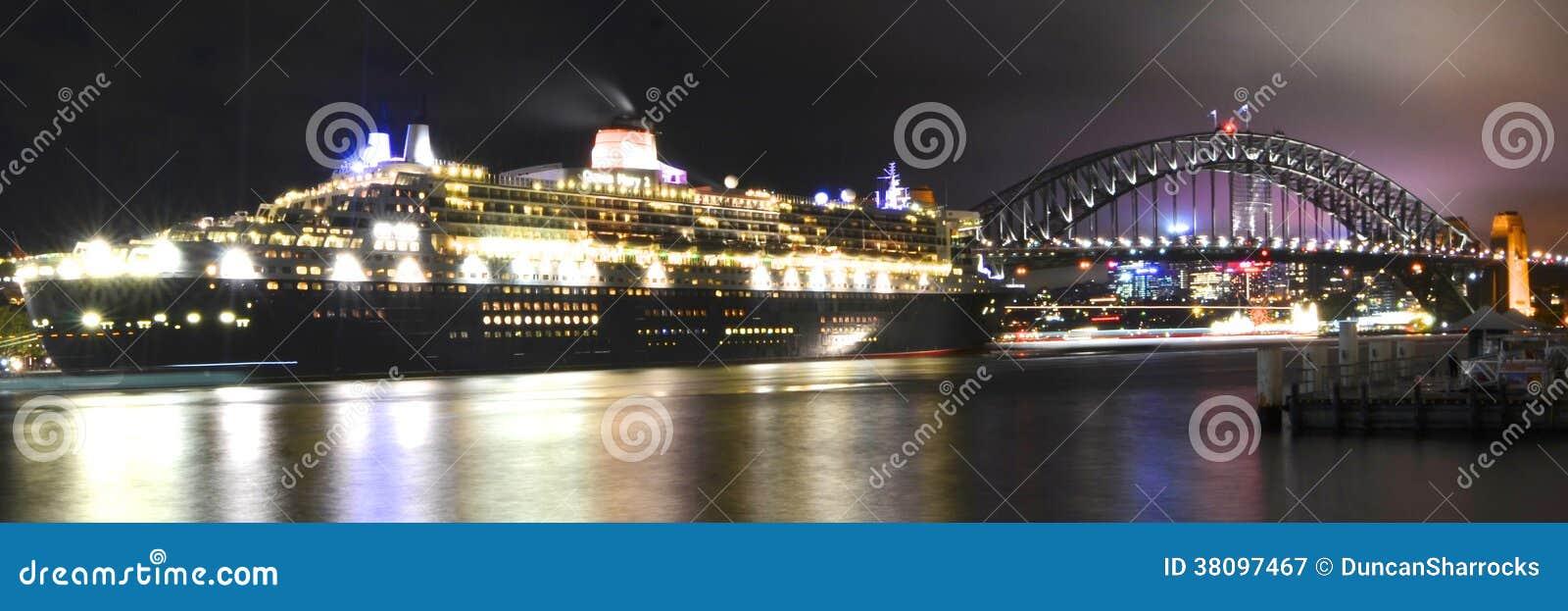 Queen Mary 2 en Sydney, Australia