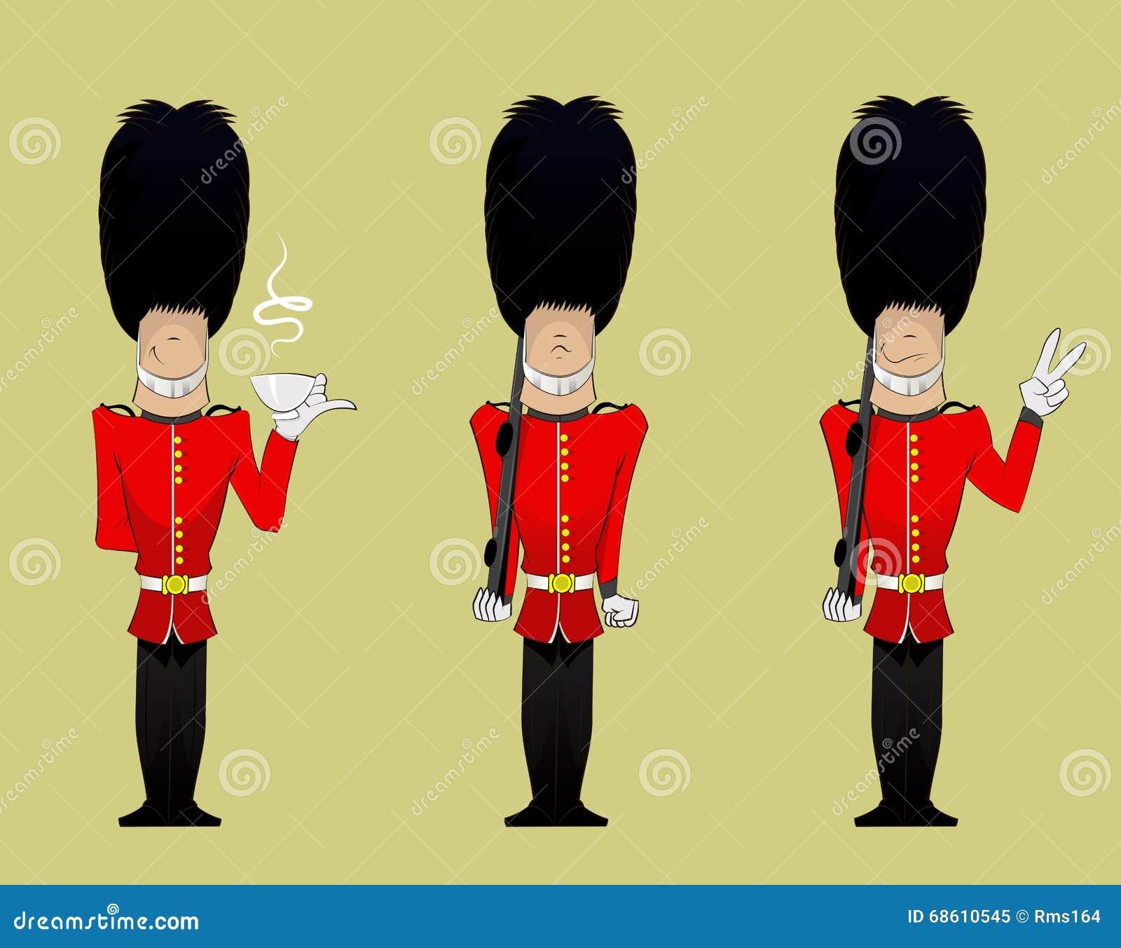 Queen Soldier illustration stock vector. Illustration of ...