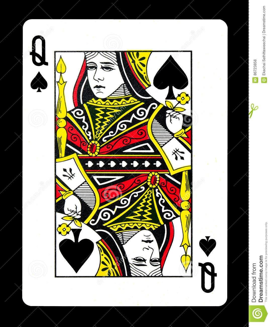 Queen of spades photos