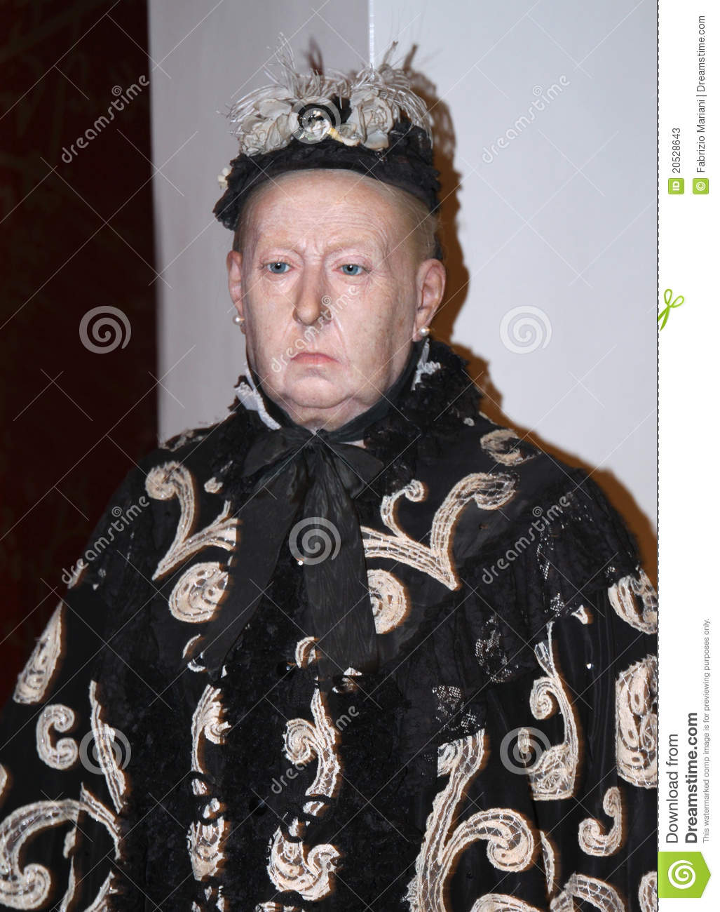 Queen Victoria At Madame Tussauds Editorial Stock Photo