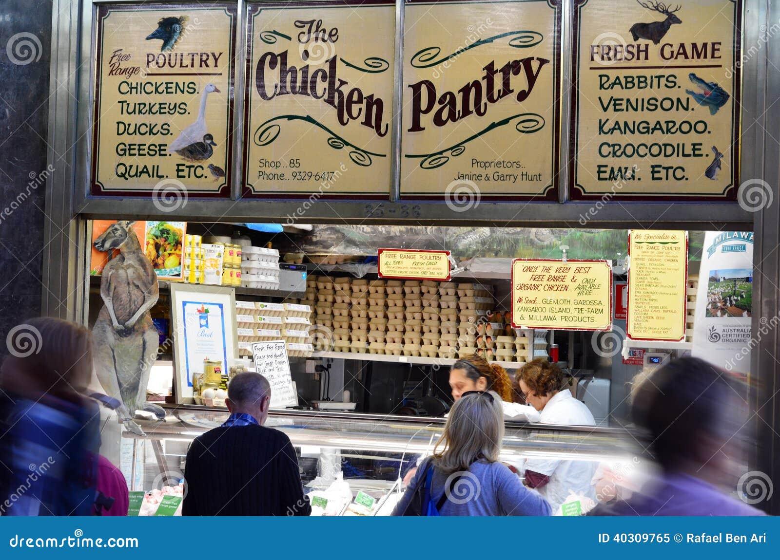 Queen Victoria Market - Melbourne Editorial Image - Image of