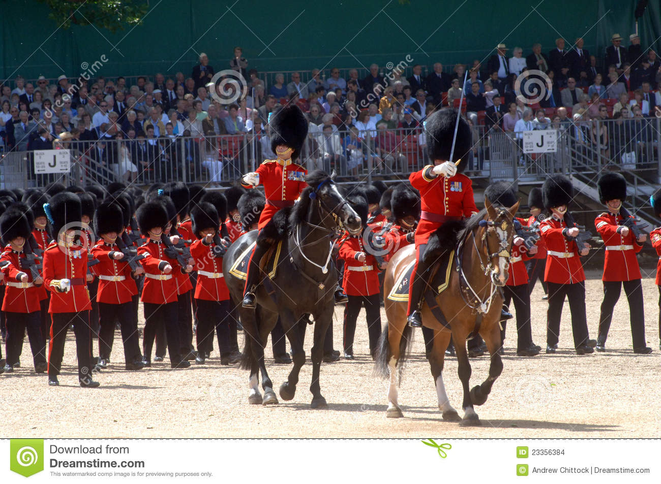 The Queens Birthday Parade. Editorial Stock Image - Image ...