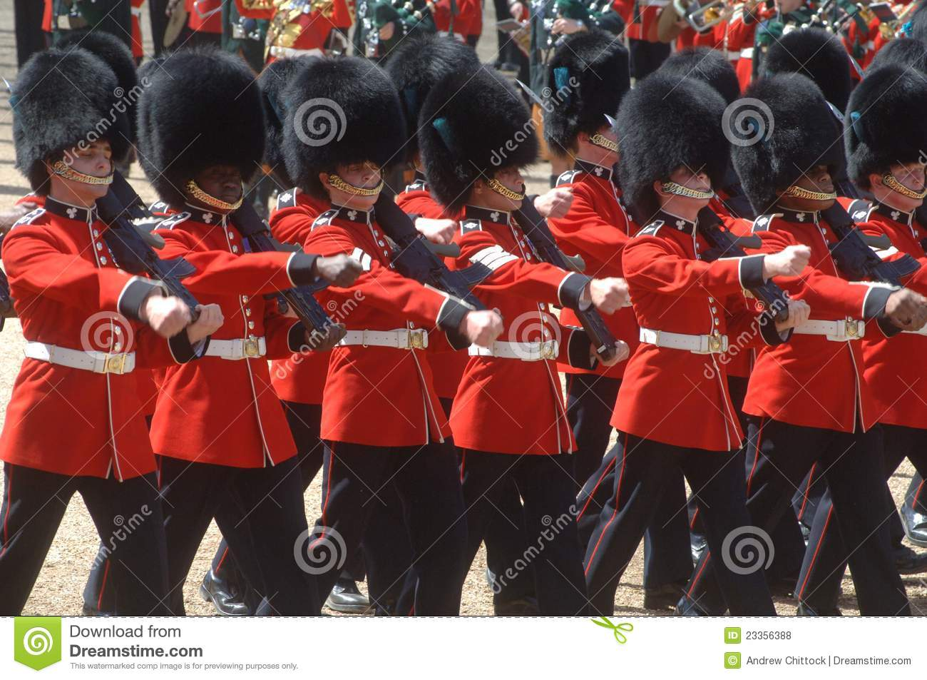 The Queens Birthday Parade. Editorial Stock Photo - Image ...
