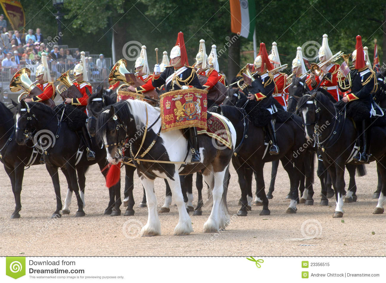 The Queens Birthday Parade. Editorial Image - Image: 23356515
