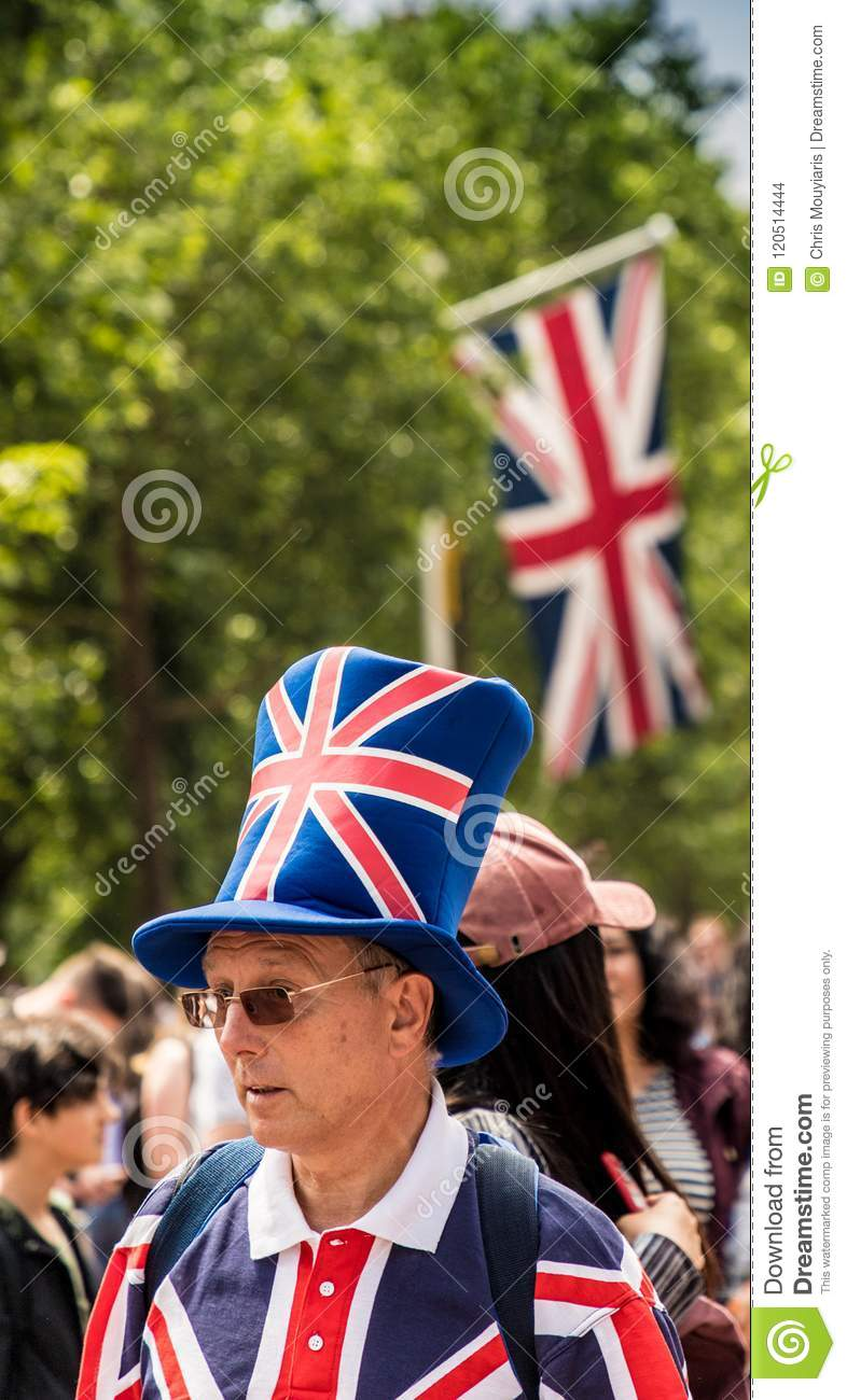 The Queens Birthday Trooping The Colour Editorial Stock