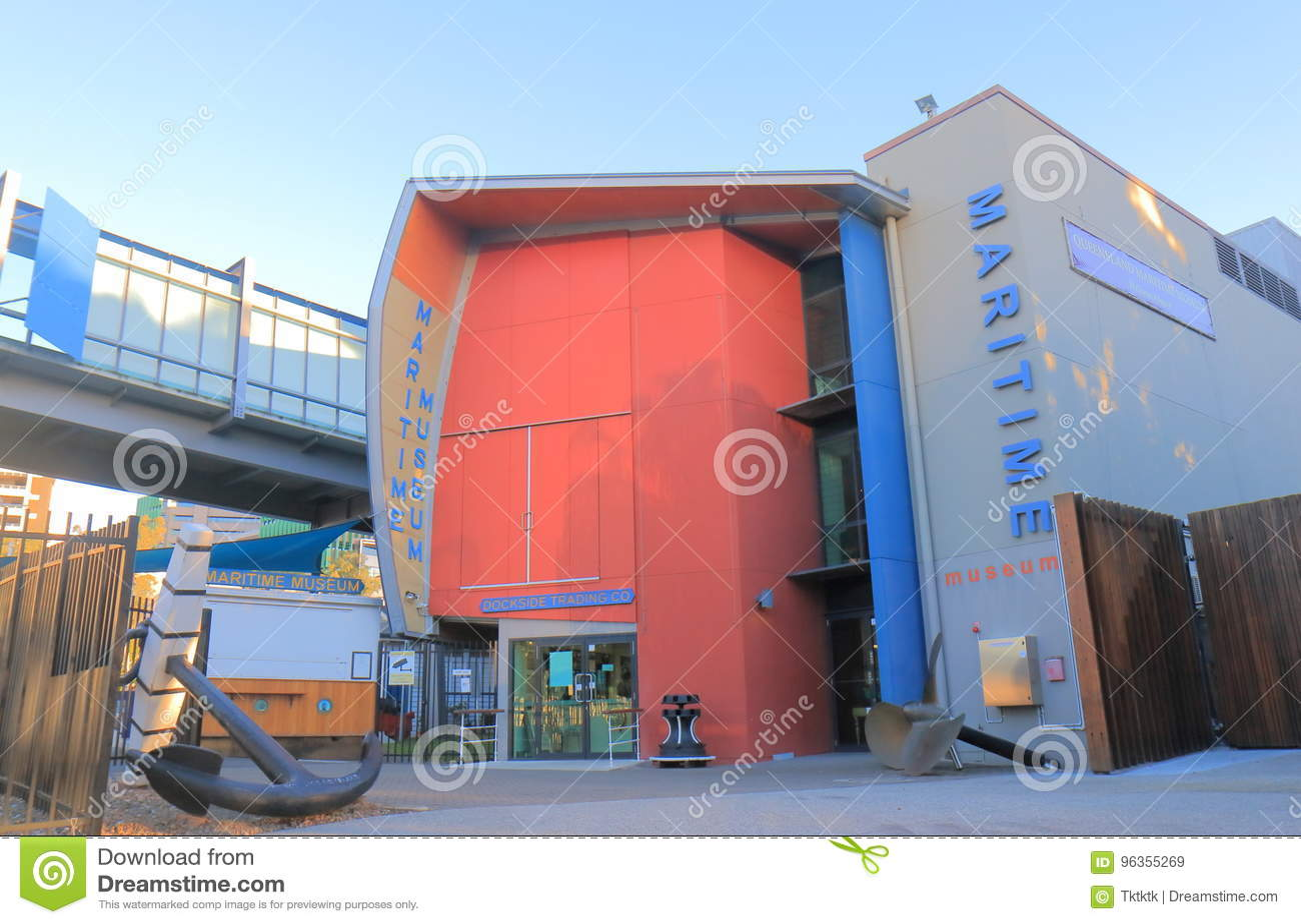 Queensland maritimt museum Brisbane Australien