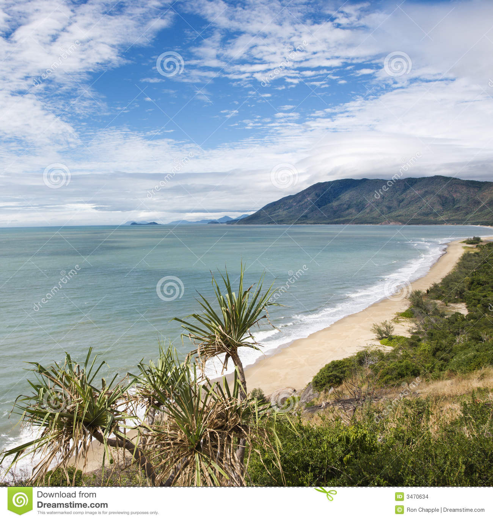 Queensland scenic coast.