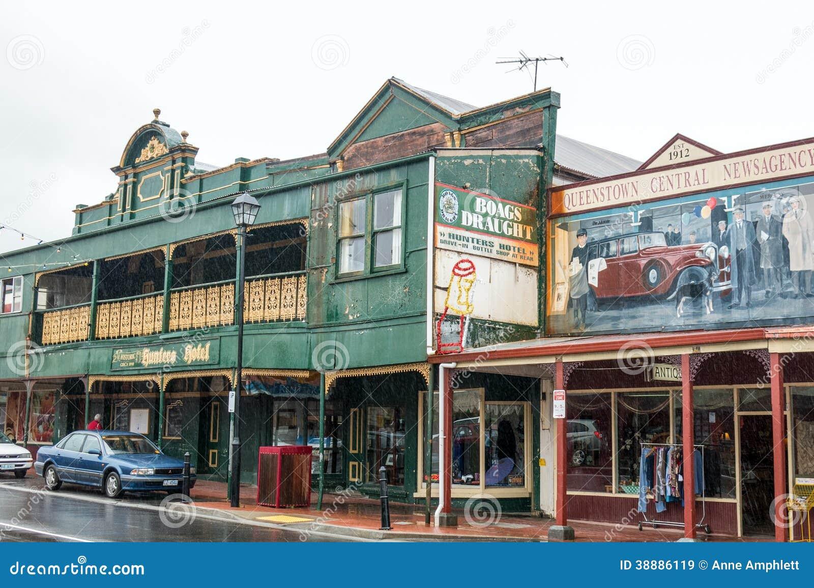 Queenstown, Tasmanie