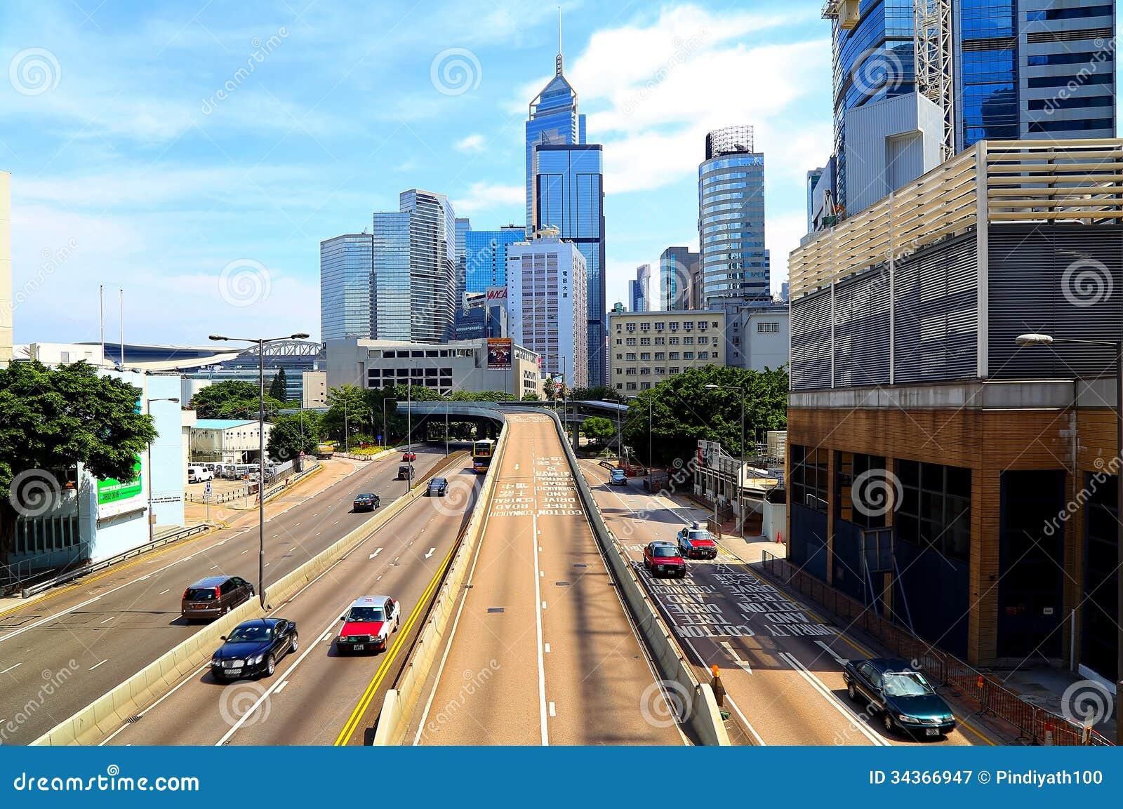 Queensway In Admiralty, Hong K...