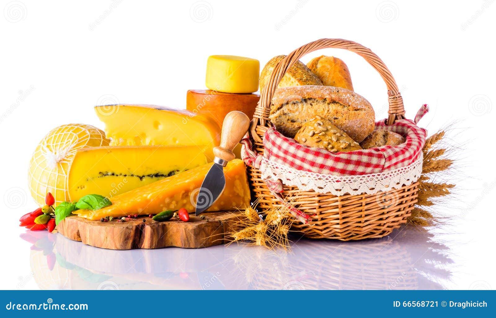 Queijo e pão