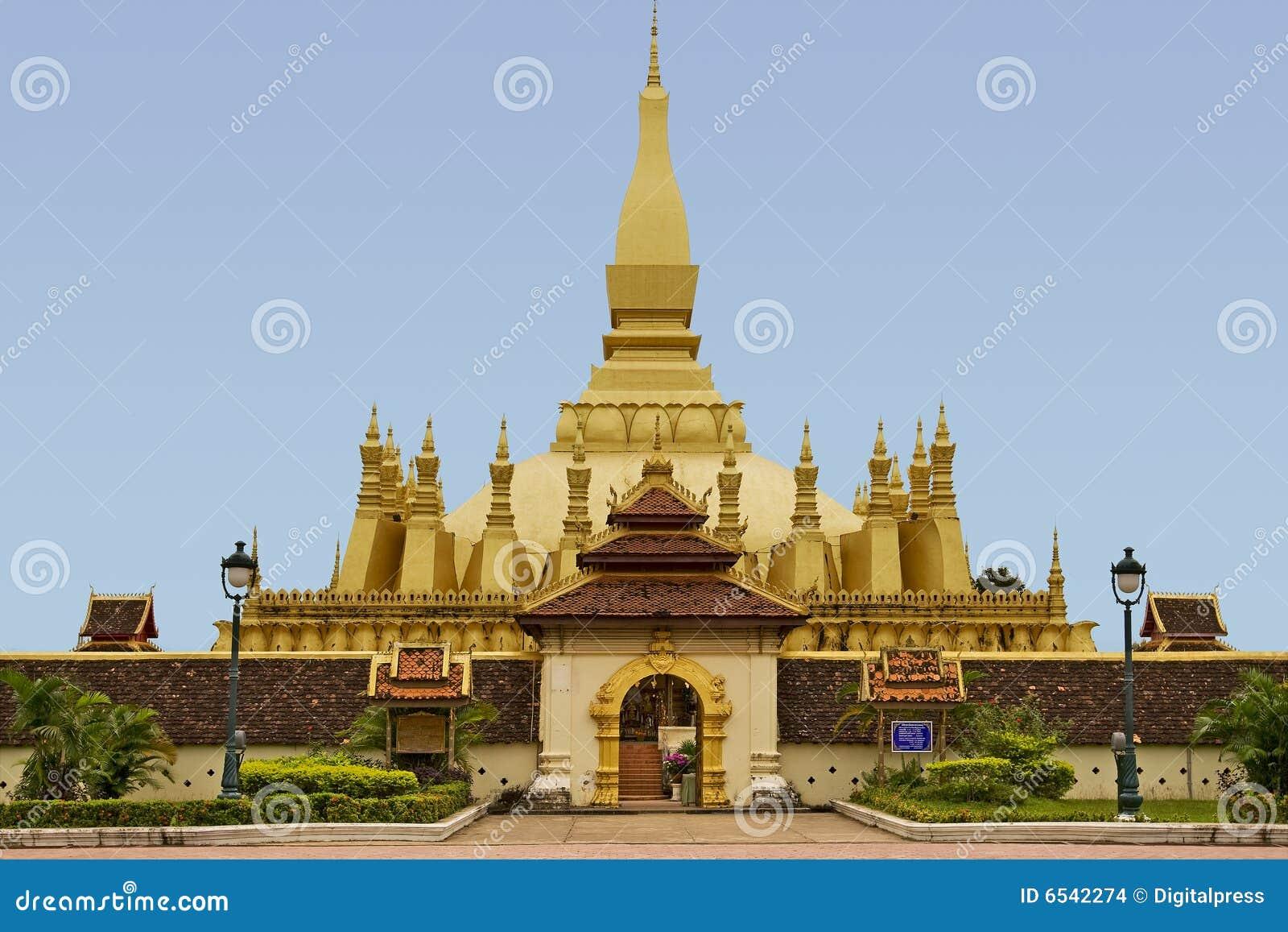 Quel Luang, tempiale nel Laos