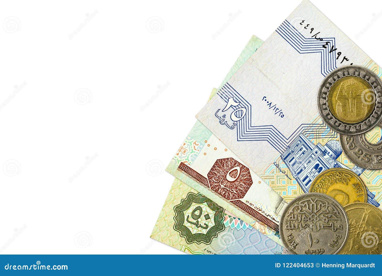 Quelques Billets De Banque Et Pieces De Monnaie De Livre