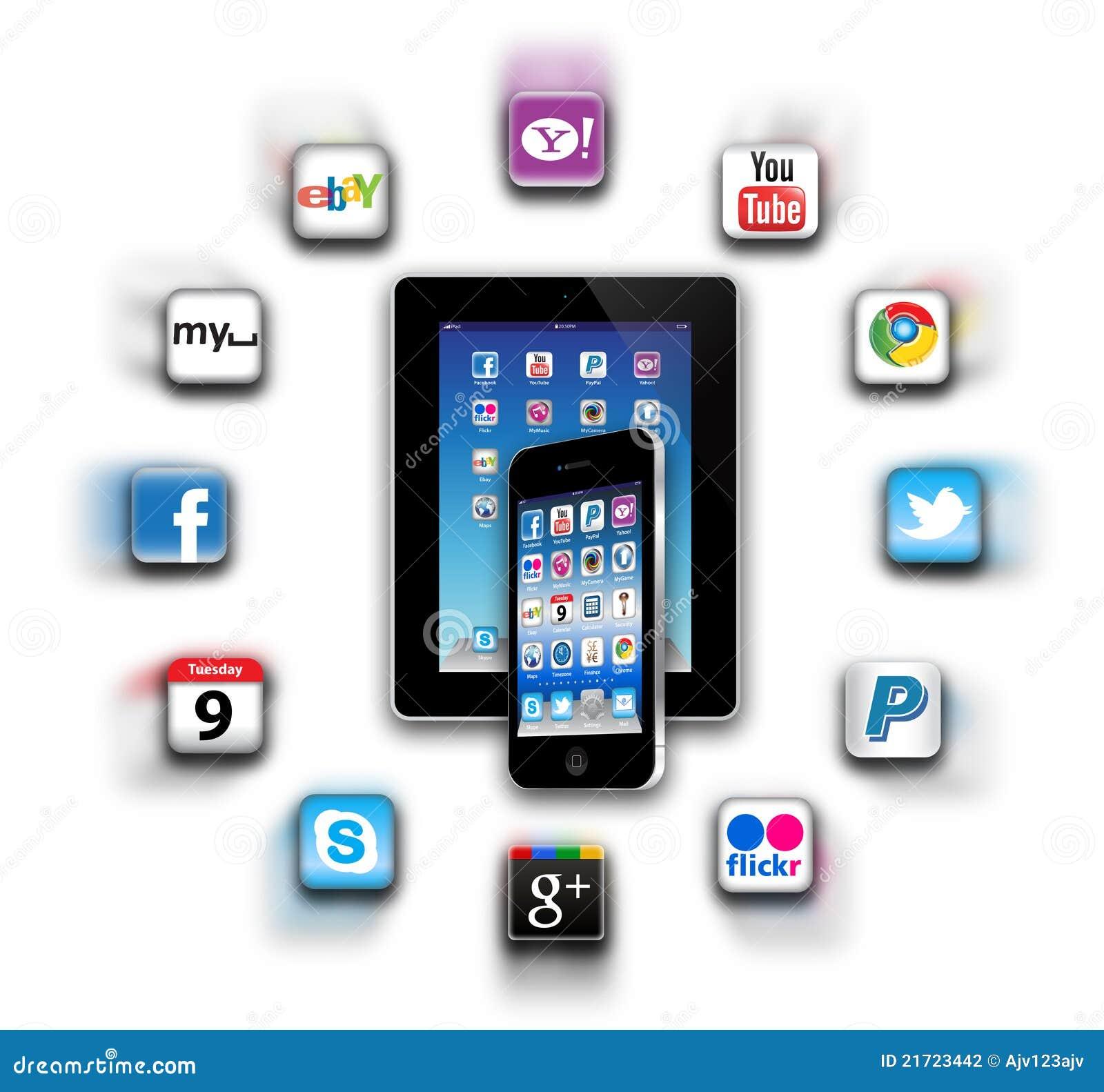 Quels sont des apps sont sur votre réseau mobile aujourd hui ?