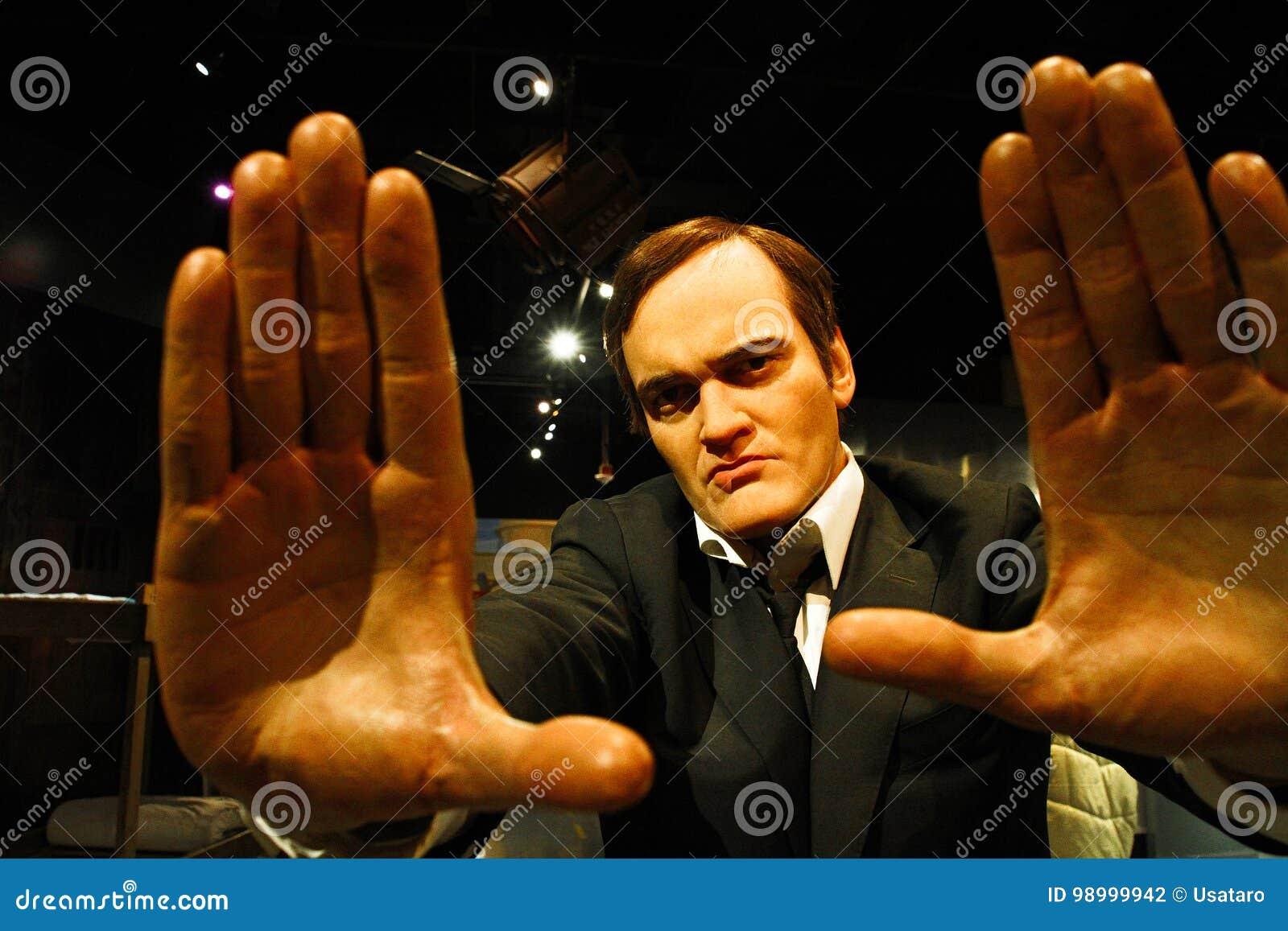 Quentin Tarantino dans Madame Tussauds Hollywood
