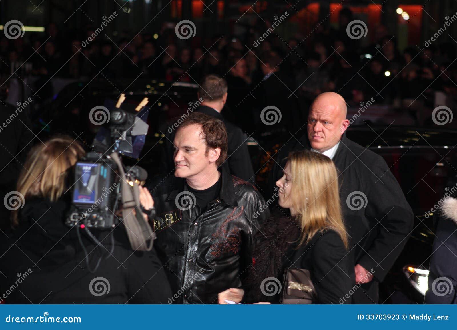 Quentin Tarantino - Django Unchained - Première