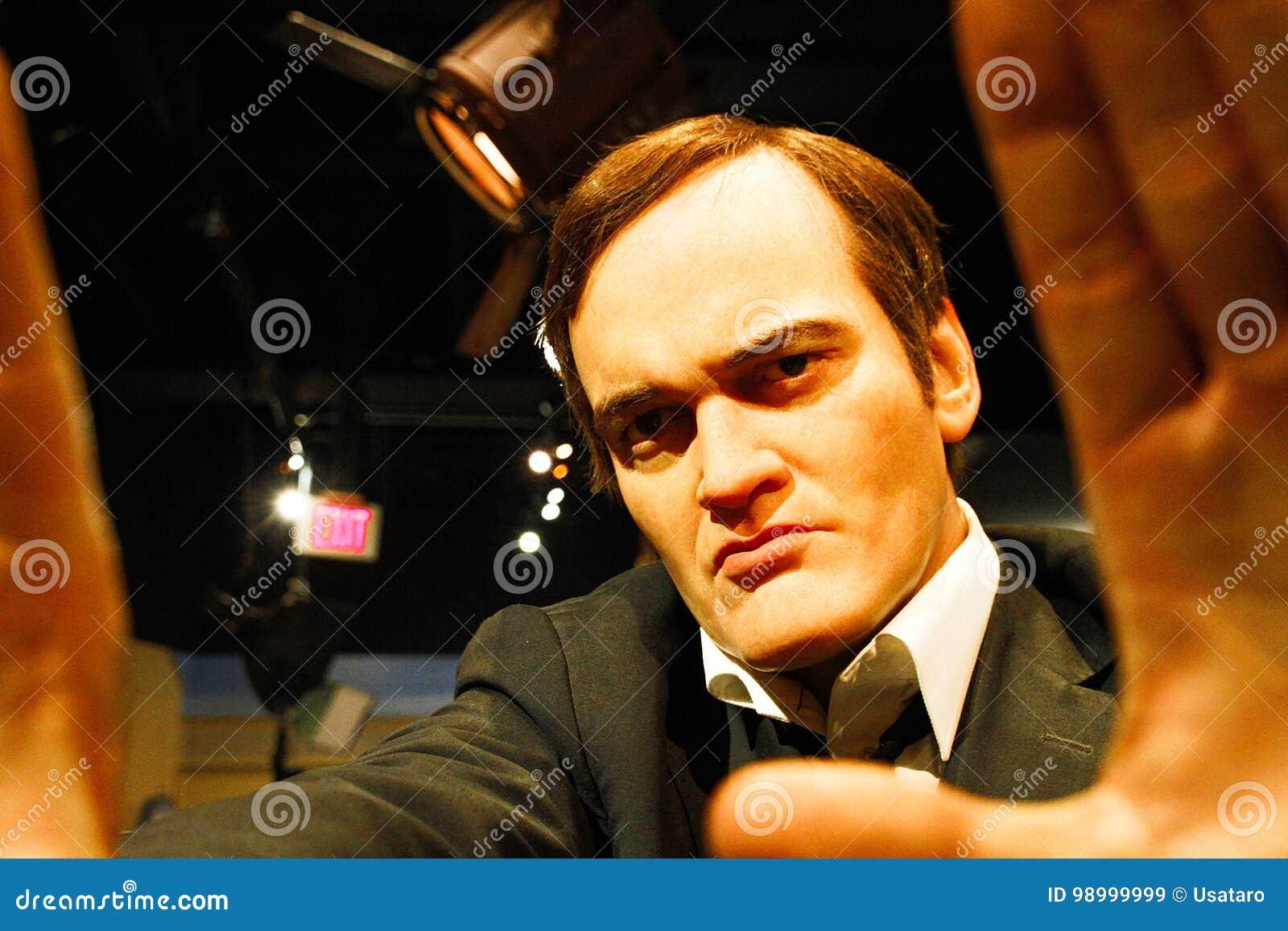 Quentin Tarantino w Madame Tussauds Hollywood