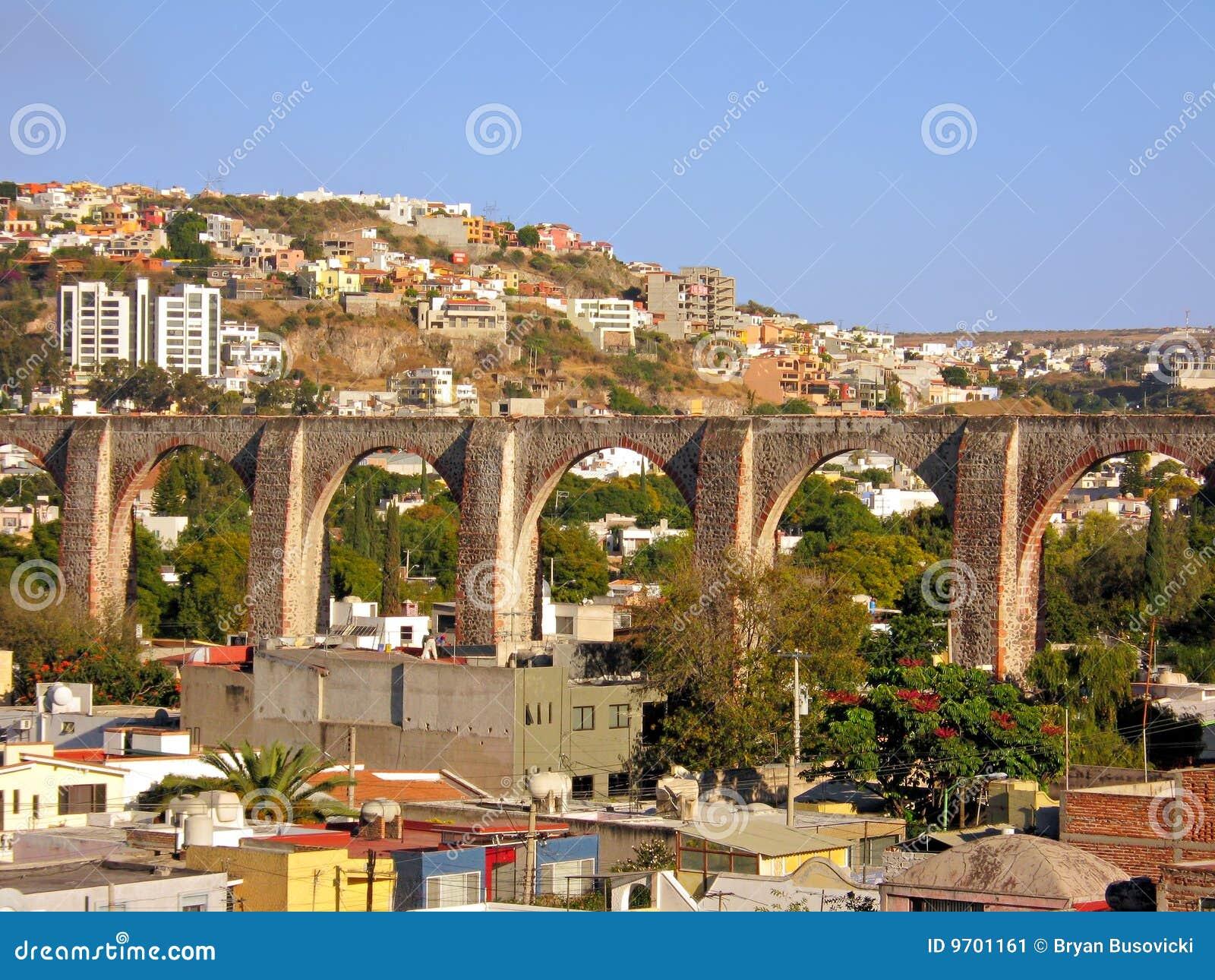 Queretaro arcos los Мексики мост-водовода