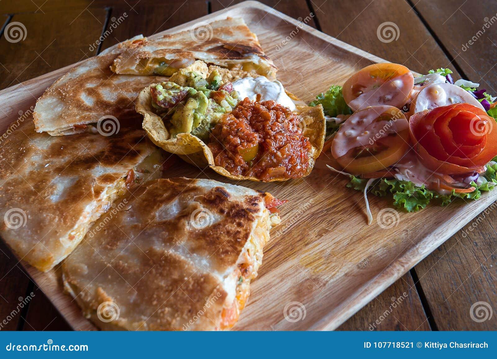 Quesadilla Mexican food