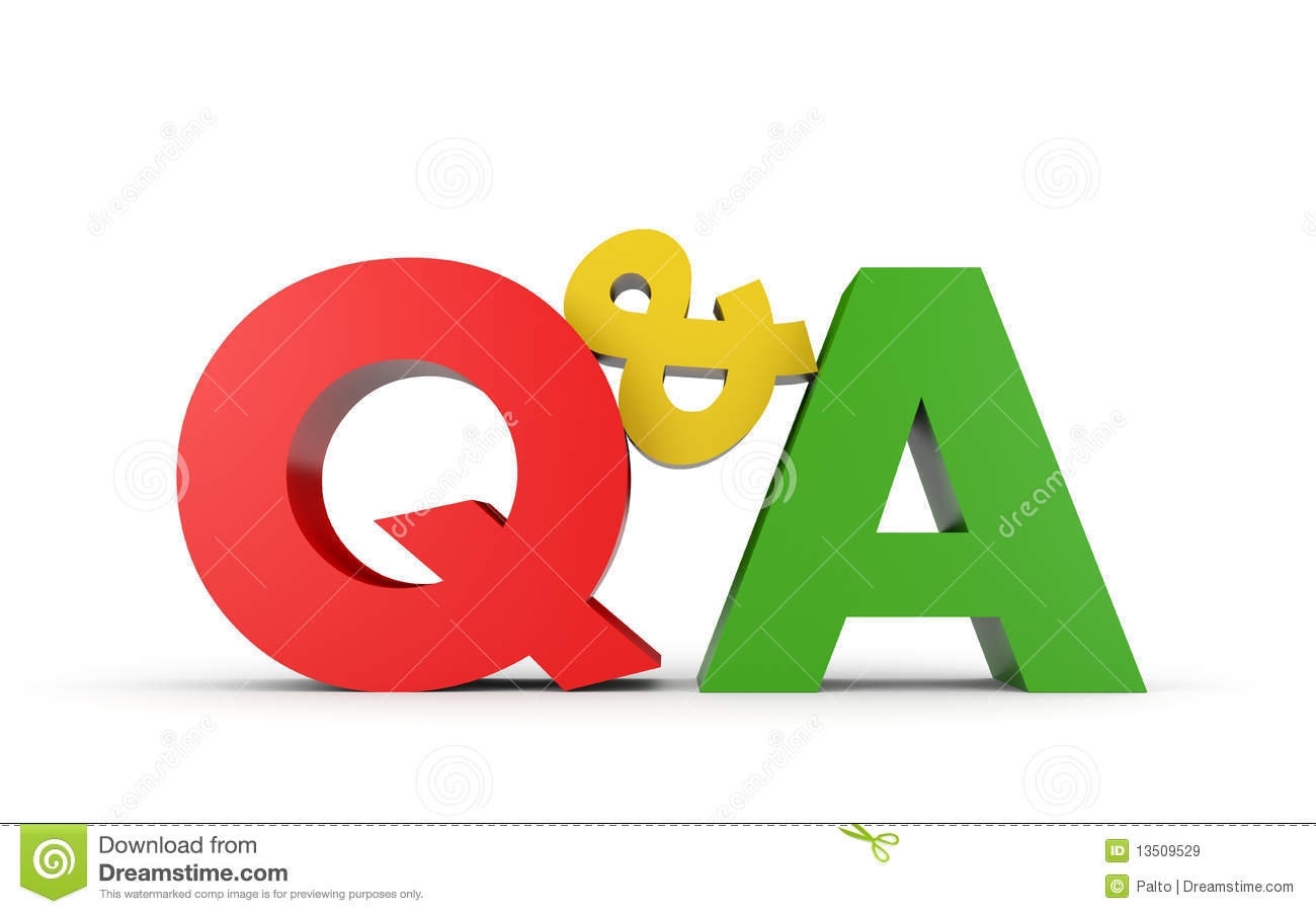 Question And Answer Royalty Free Stock Images - Image: 13509529