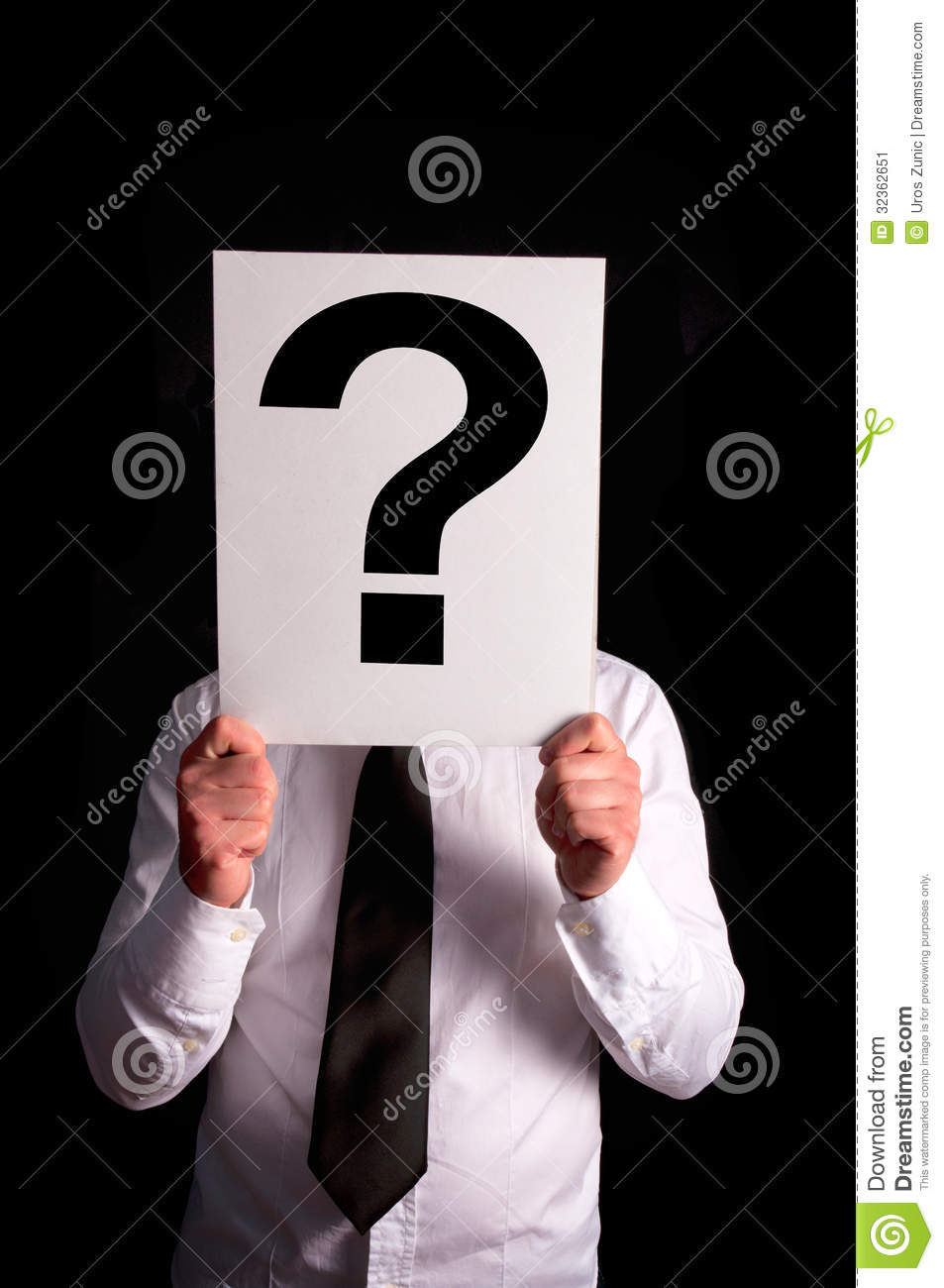 Question Mark Stock Image - Image: 32362651