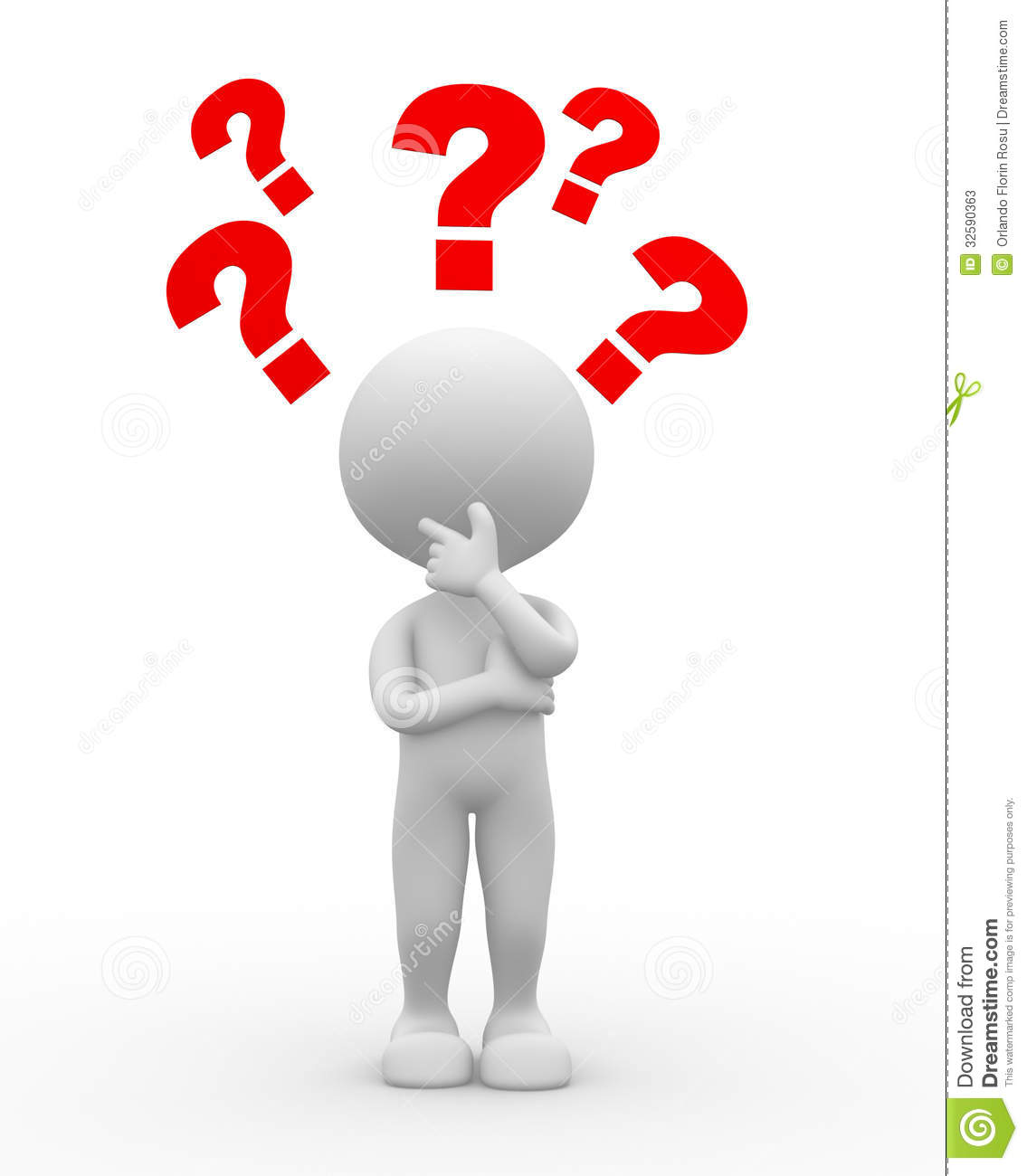 Question Mark. Confusion Stock Photos - Image: 32590363