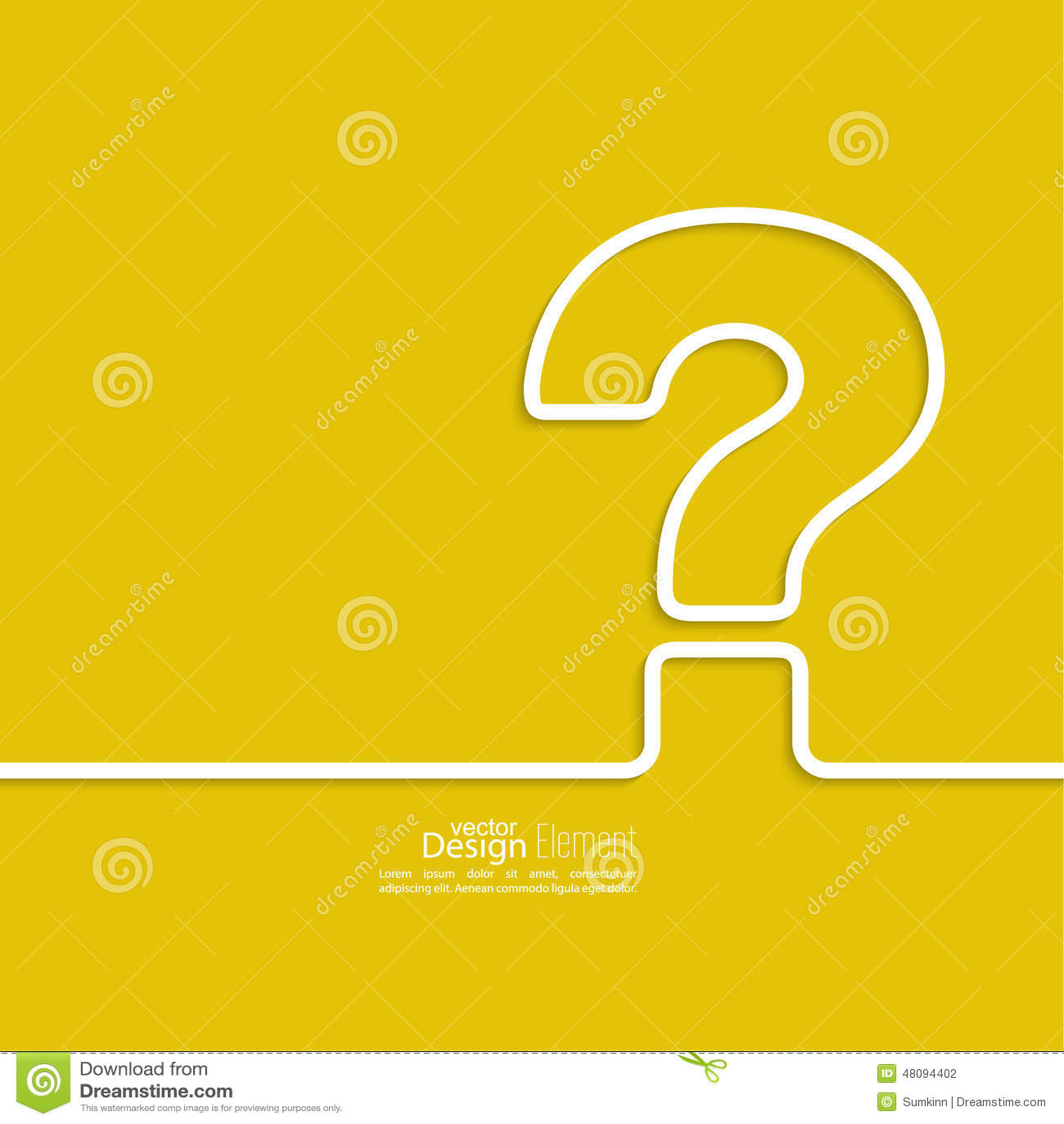 question mark icon stock vector image 48094402